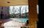 In ground outdoor pool with pavers.
