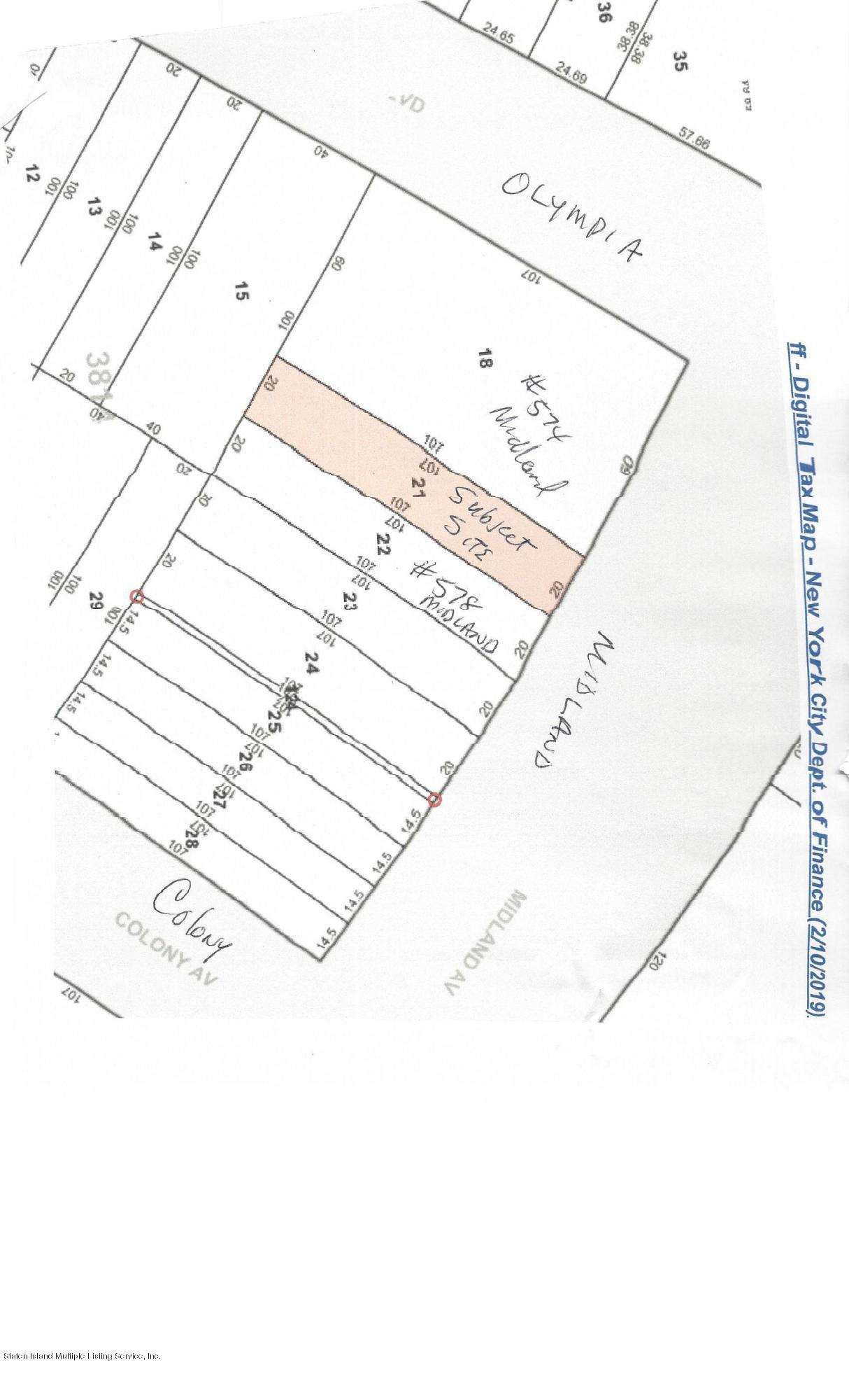 Land/Lots in Midland Beach - 0 Midland Avenue  Staten Island, NY 10306