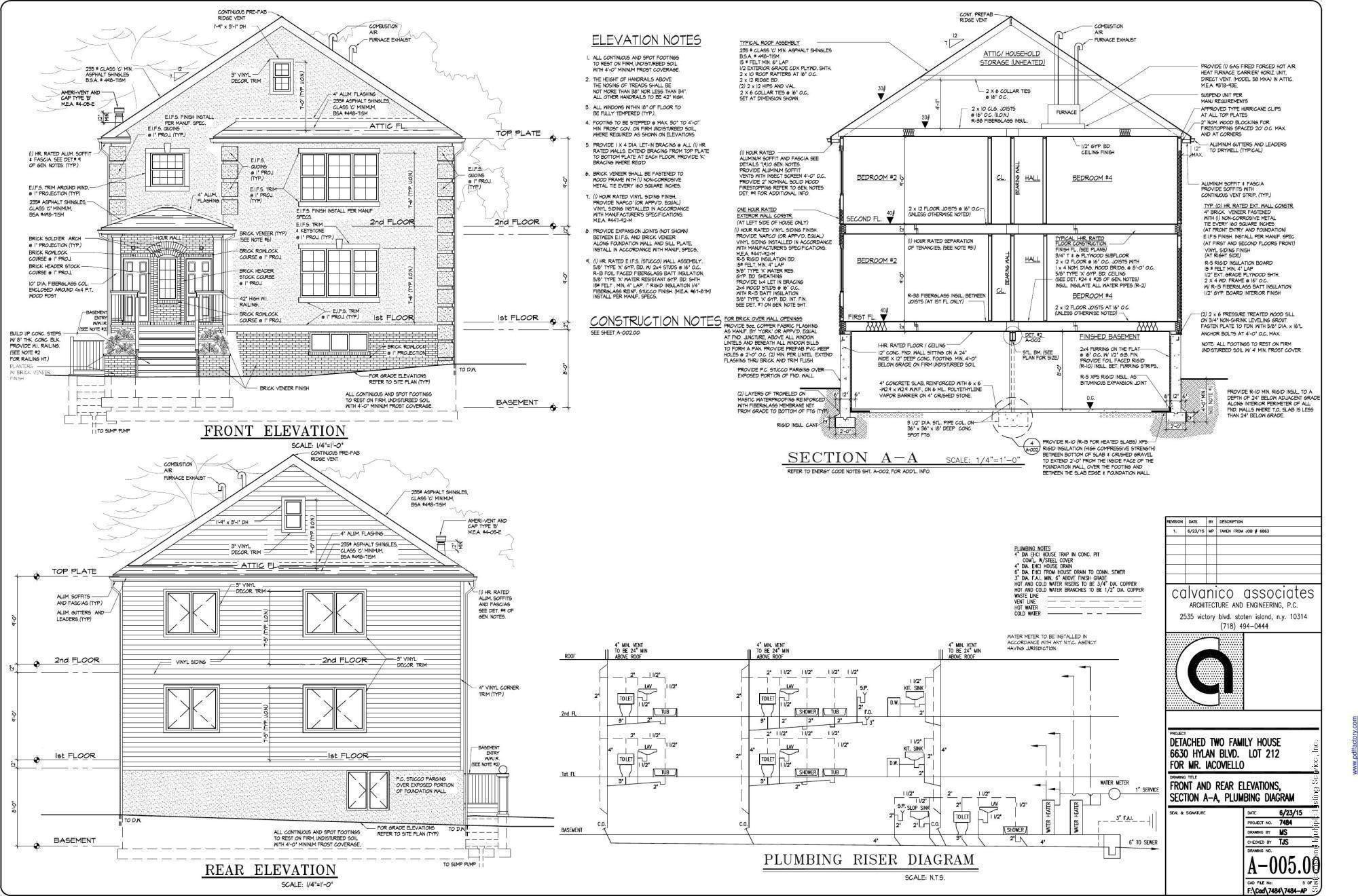 Two Family - Detached 6650 Hylan - B Boulevard  Staten Island, NY 10309, MLS-1125933-2