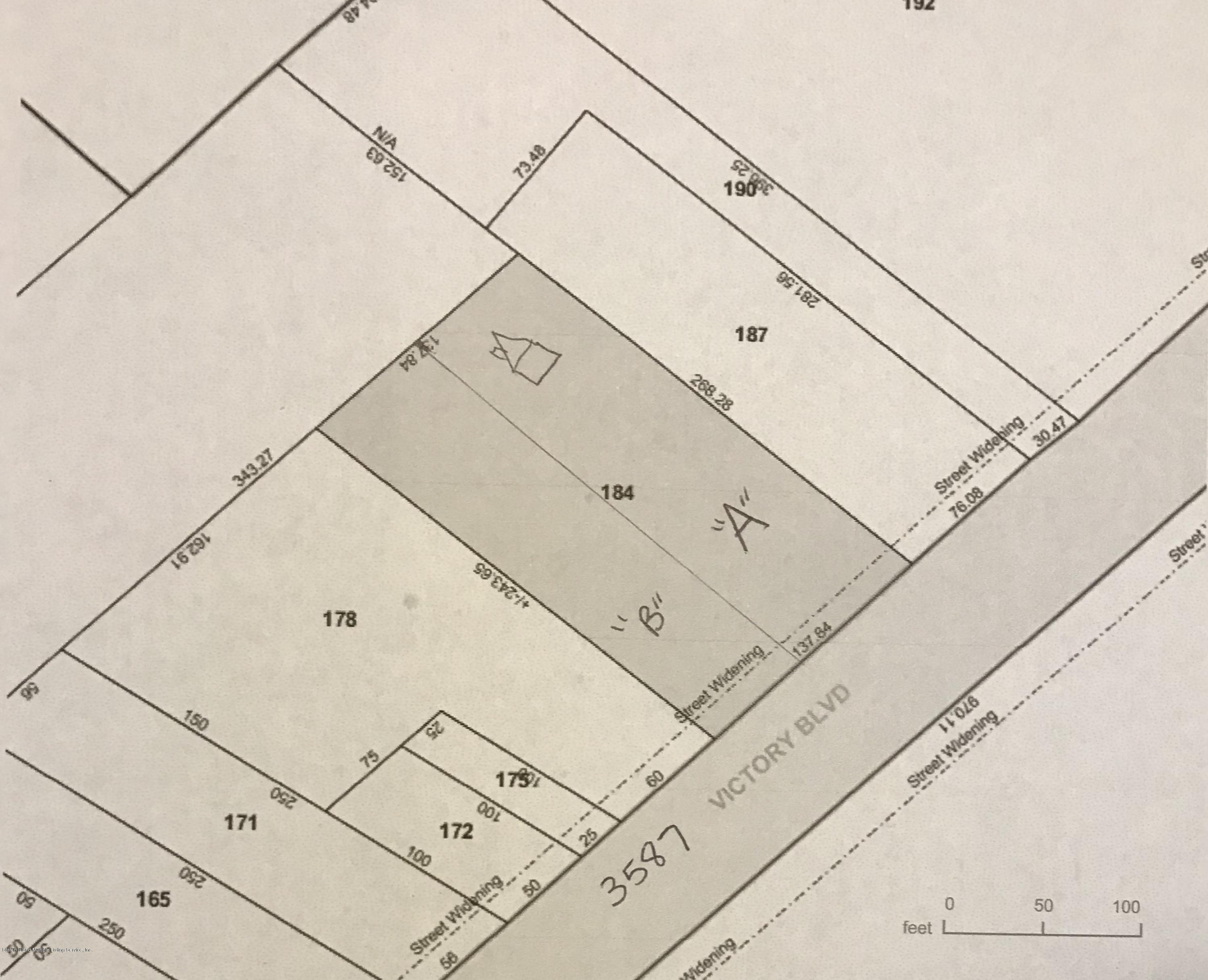Land/Lots in Bloomfield - 3587b Victory Boulevard  Staten Island, NY 10314