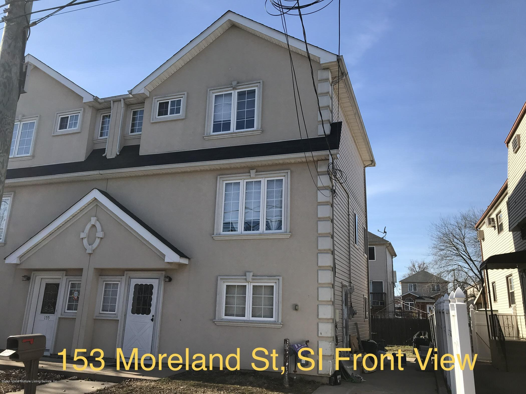 Single Family - Semi-Attached in Midland Beach - 153 Moreland Street  Staten Island, NY 10306