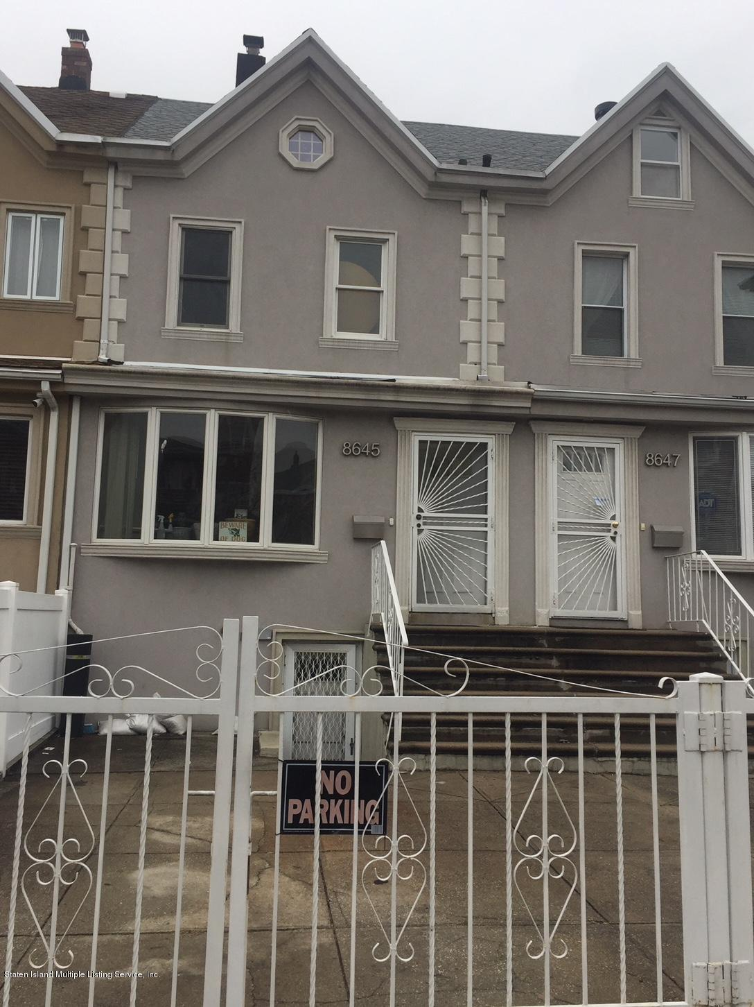 Single Family - Attached in Bath Beach - 8645 Bay 16th Street  Brooklyn, NY 11214
