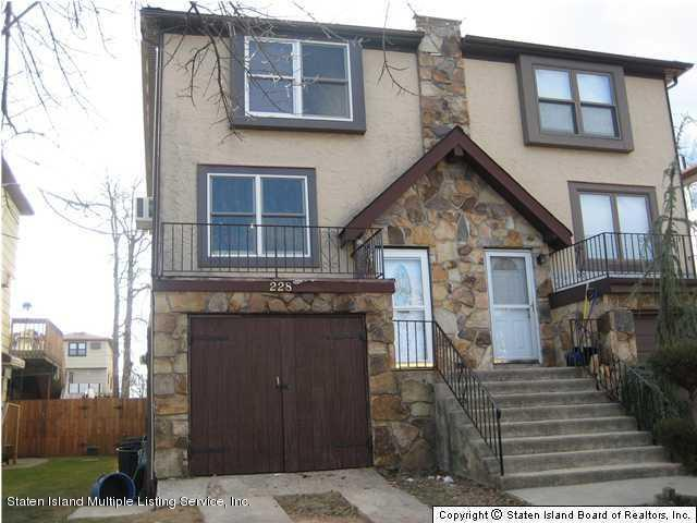 Single Family - Semi-Attached in Annadale - 228 Shotwell Avenue  Staten Island, NY 10312