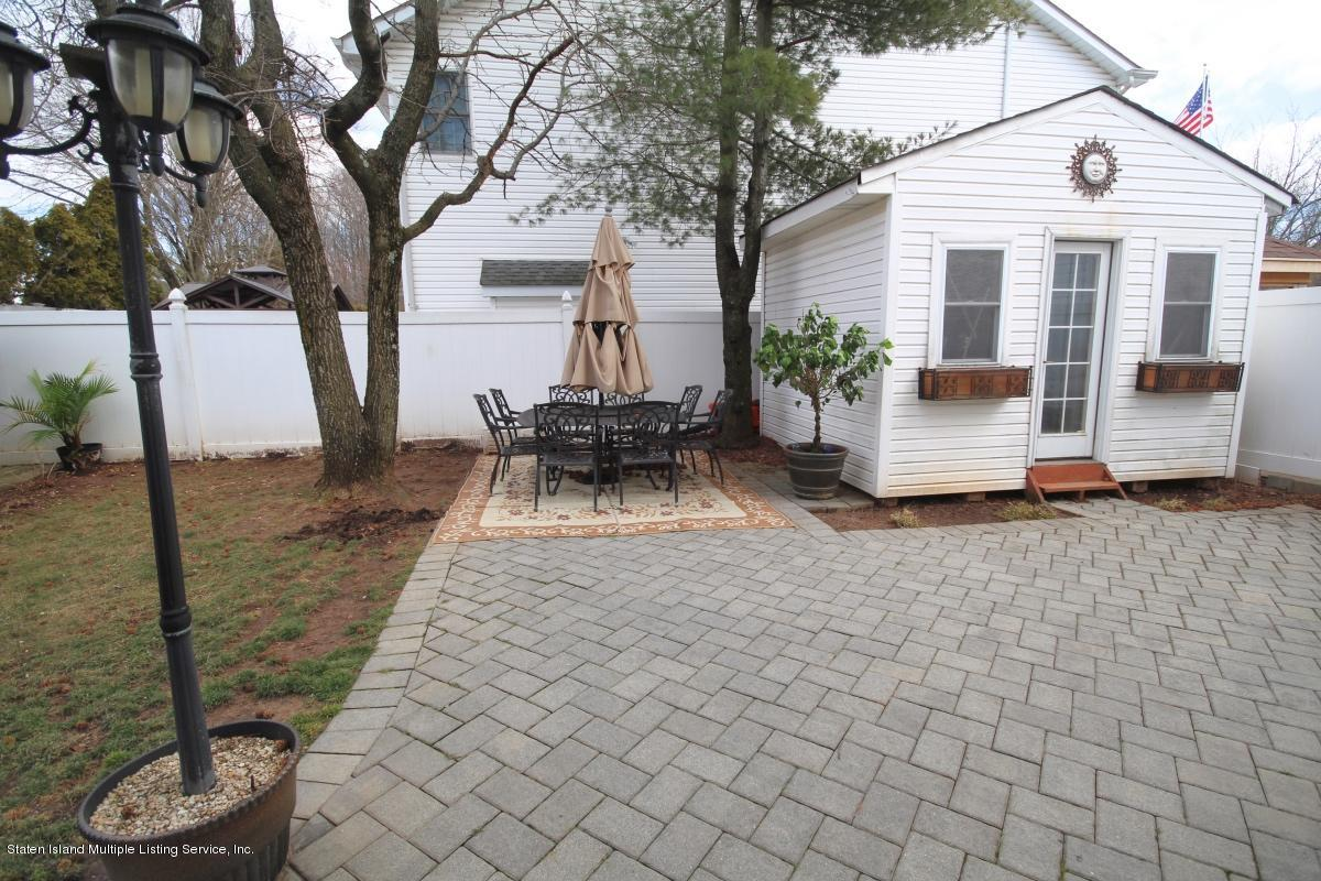 Single Family - Detached 141 Delmar Avenue  Staten Island, NY 10312, MLS-1126982-25