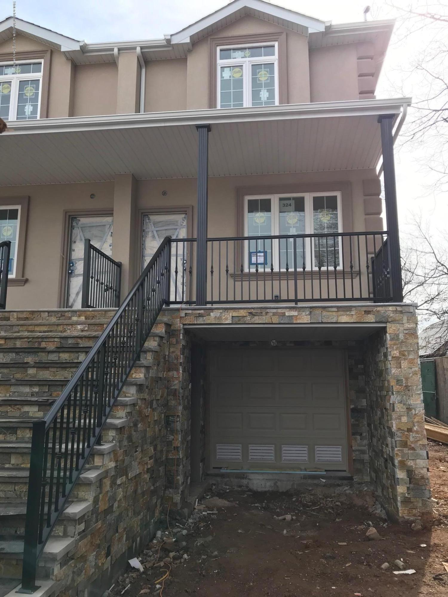 Single Family - Semi-Attached in Grant City - 324 Poultney Street  Staten Island, NY 10306