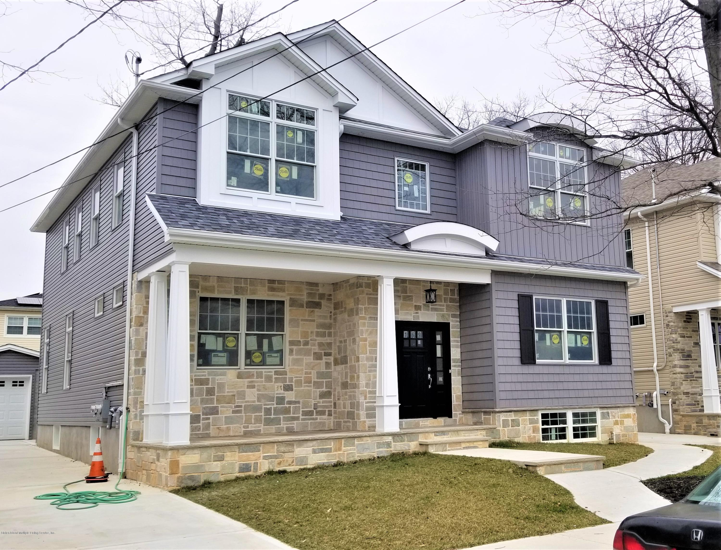 Two Family - Detached in S.E. Annadale - 169 Bathgate Street  Staten Island, NY 10312