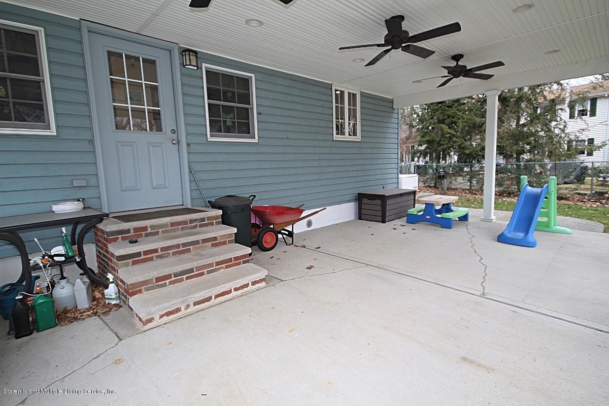 Single Family - Detached 113 Woodvale Avenue  Staten Island, NY 10309, MLS-1127531-29