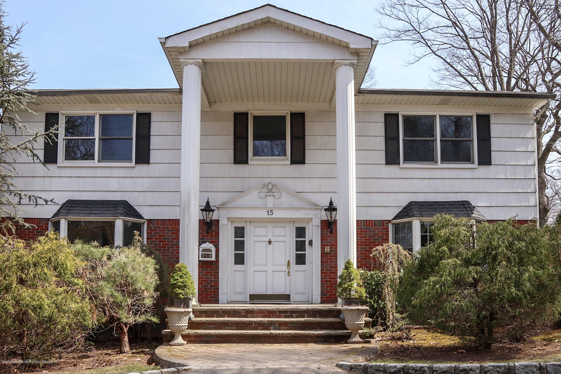 Single Family - Detached in Todt Hill - 15 Butterworth Avenue  Staten Island, NY 10301