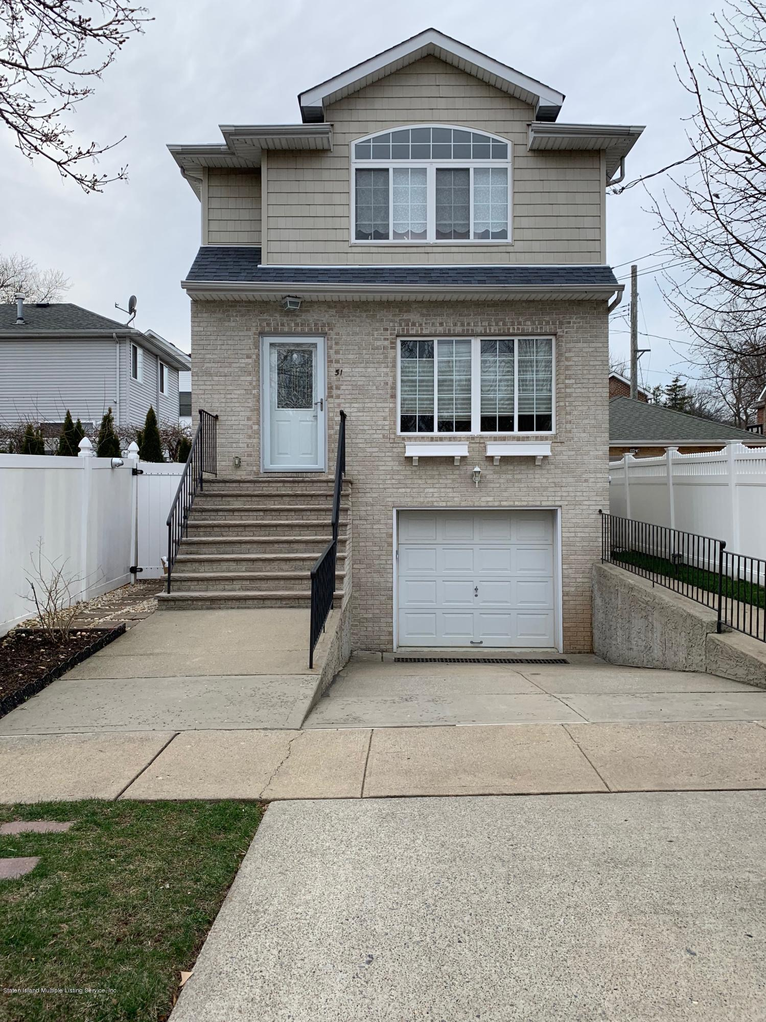 Two Family - Detached in Dongan Hills-Above Hylan - 51 Plattsburg Street  Staten Island, NY 10304