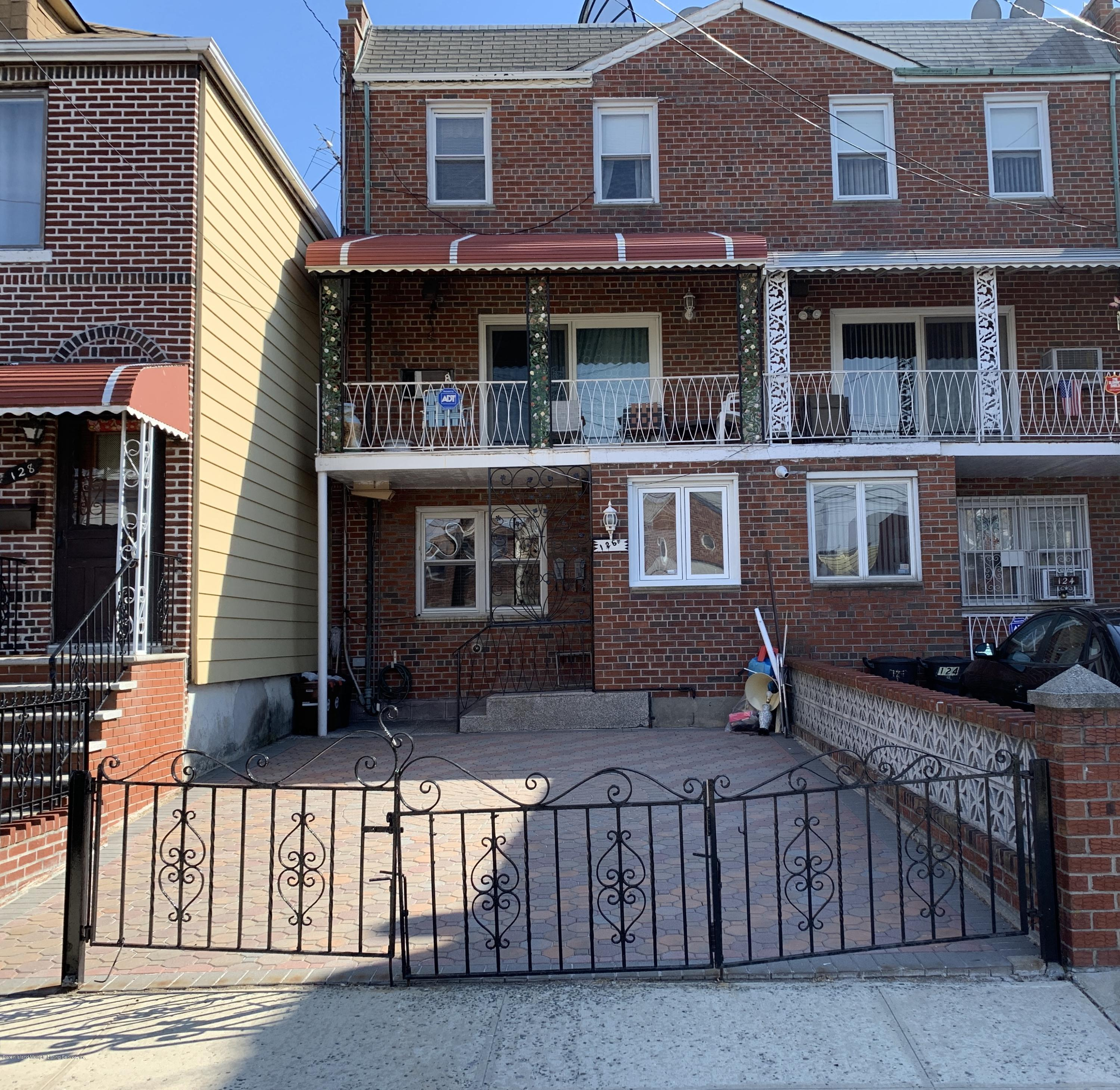 Two Family - Attached in Gravesend - 126 Avenue V   Brooklyn, NY 11223