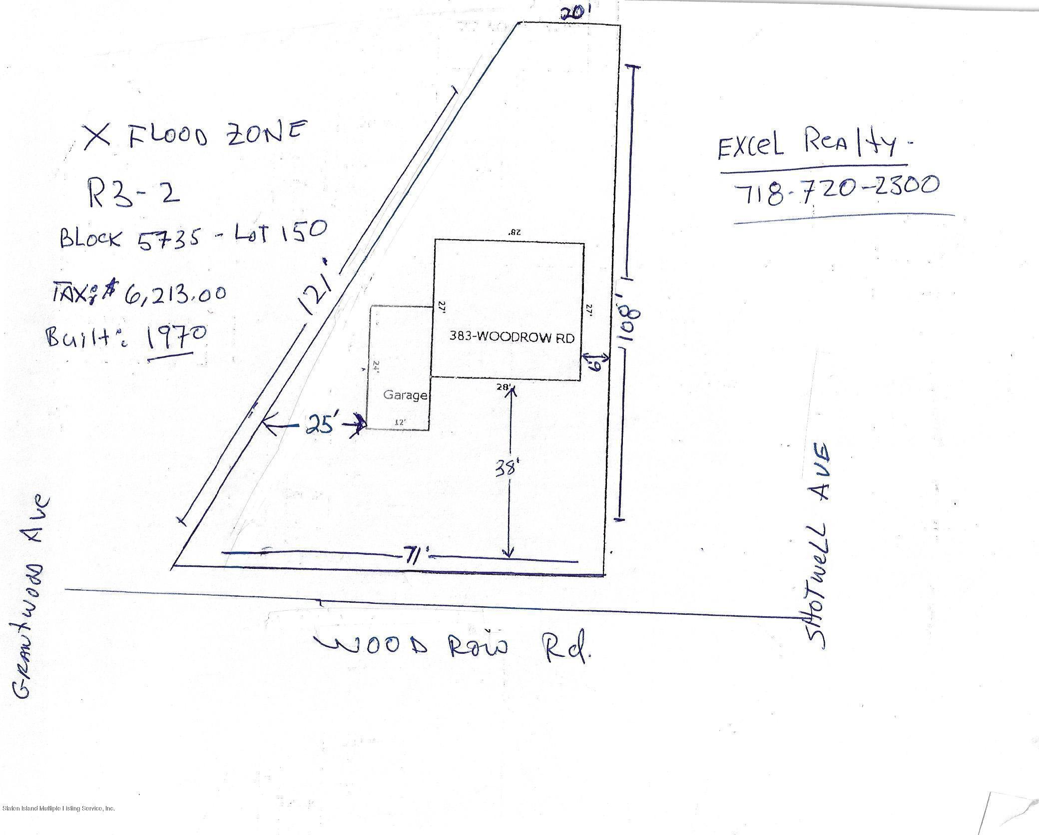 Single Family - Detached 383 Woodrow Road  Staten Island, NY 10312, MLS-1127872-2