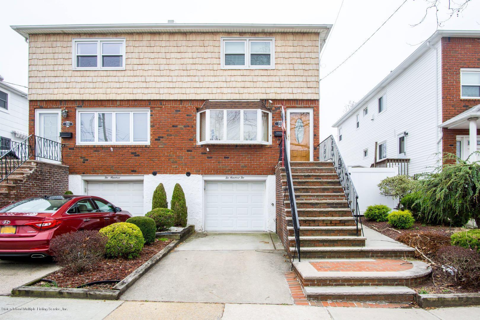 Single Family - Semi-Attached in Bulls Head - 202 Kirshon Avenue  Staten Island, NY 10314