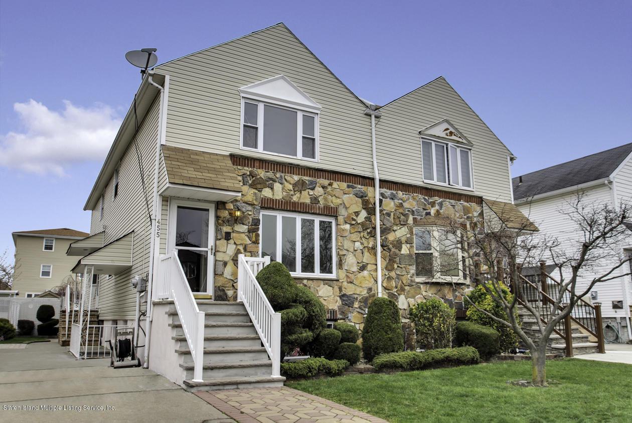 Single Family - Semi-Attached in Midland Beach - 455 Adams Avenue  Staten Island, NY 10306