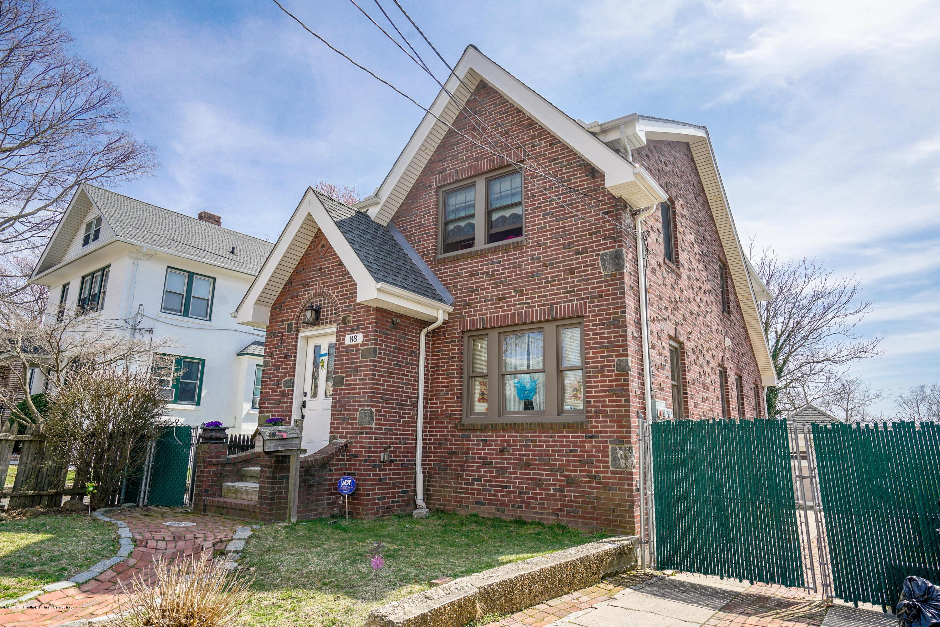Two Family - Detached 88 Macfarland Avenue  Staten Island, NY 10305, MLS-1128024-2
