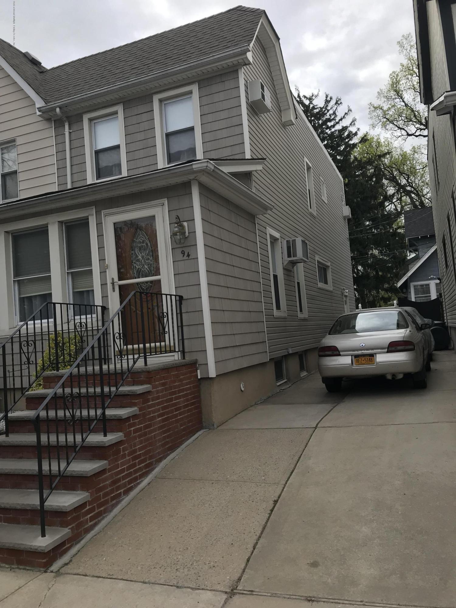 Single Family - Semi-Attached in West Brighton - 94 Delafield Place  Staten Island, NY 10310