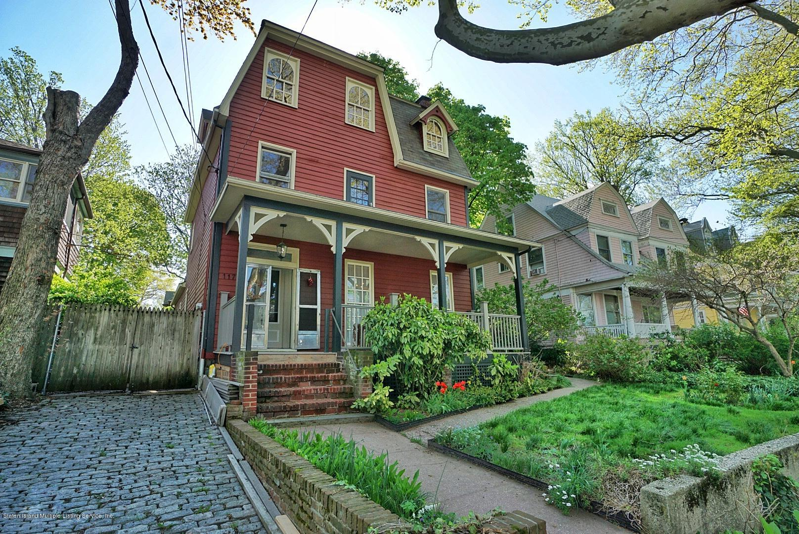 Two Family - Detached in Snug Harbor - 117 Tysen Street  Staten Island, NY 10301