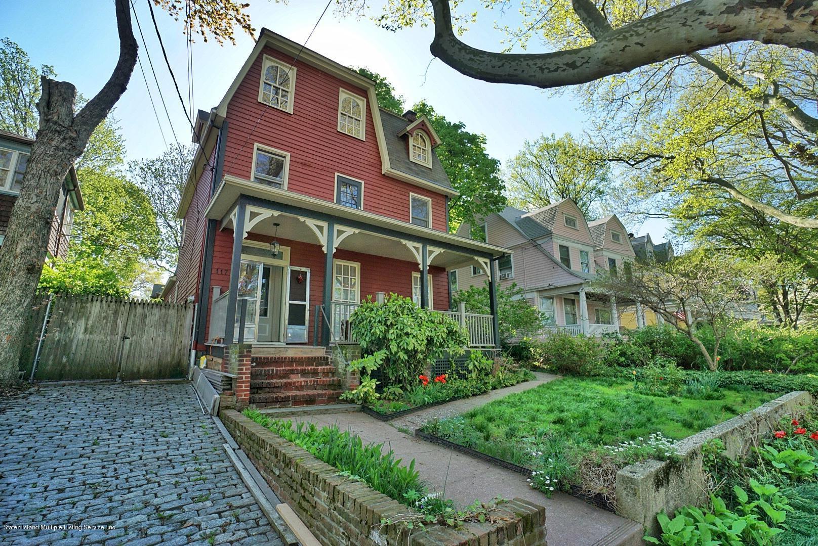 Two Family - Detached 117 Tysen Street  Staten Island, NY 10301, MLS-1128408-2