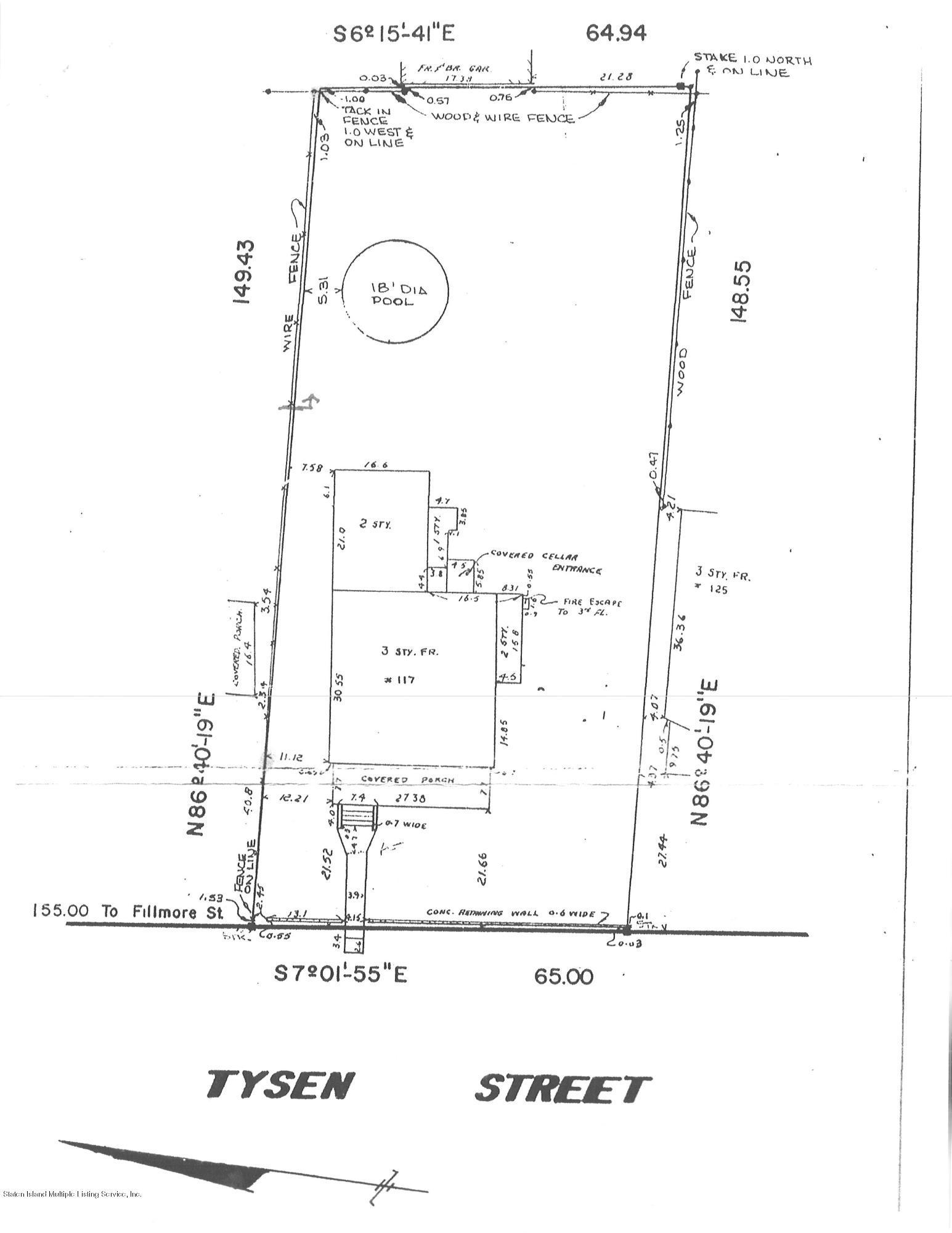 Two Family - Detached 117 Tysen Street  Staten Island, NY 10301, MLS-1128408-57