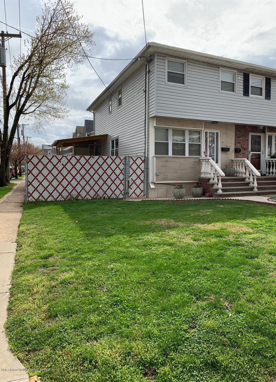 Single Family - Semi-Attached in Grant City - 344 Lincoln Avenue  Staten Island, NY 10306