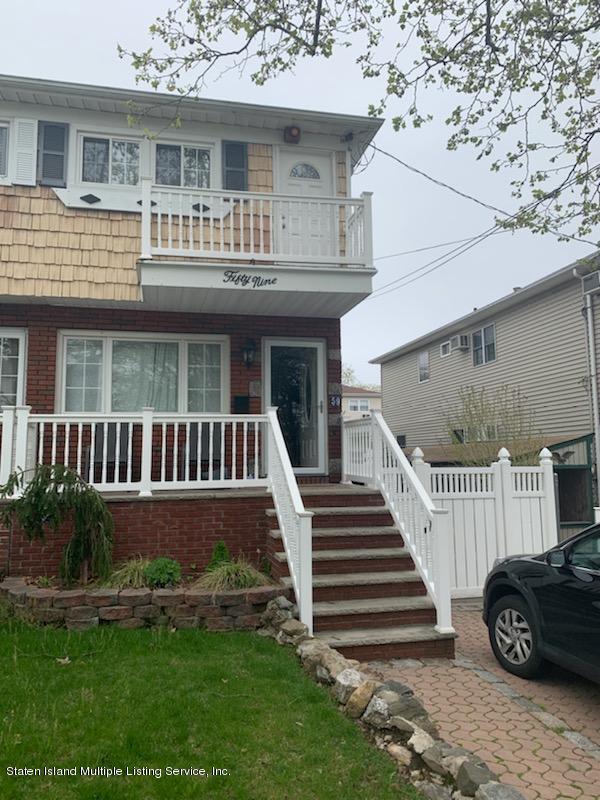 Single Family - Semi-Attached in Bay Terrace - 59 Cranford Street  Staten Island, NY 10308