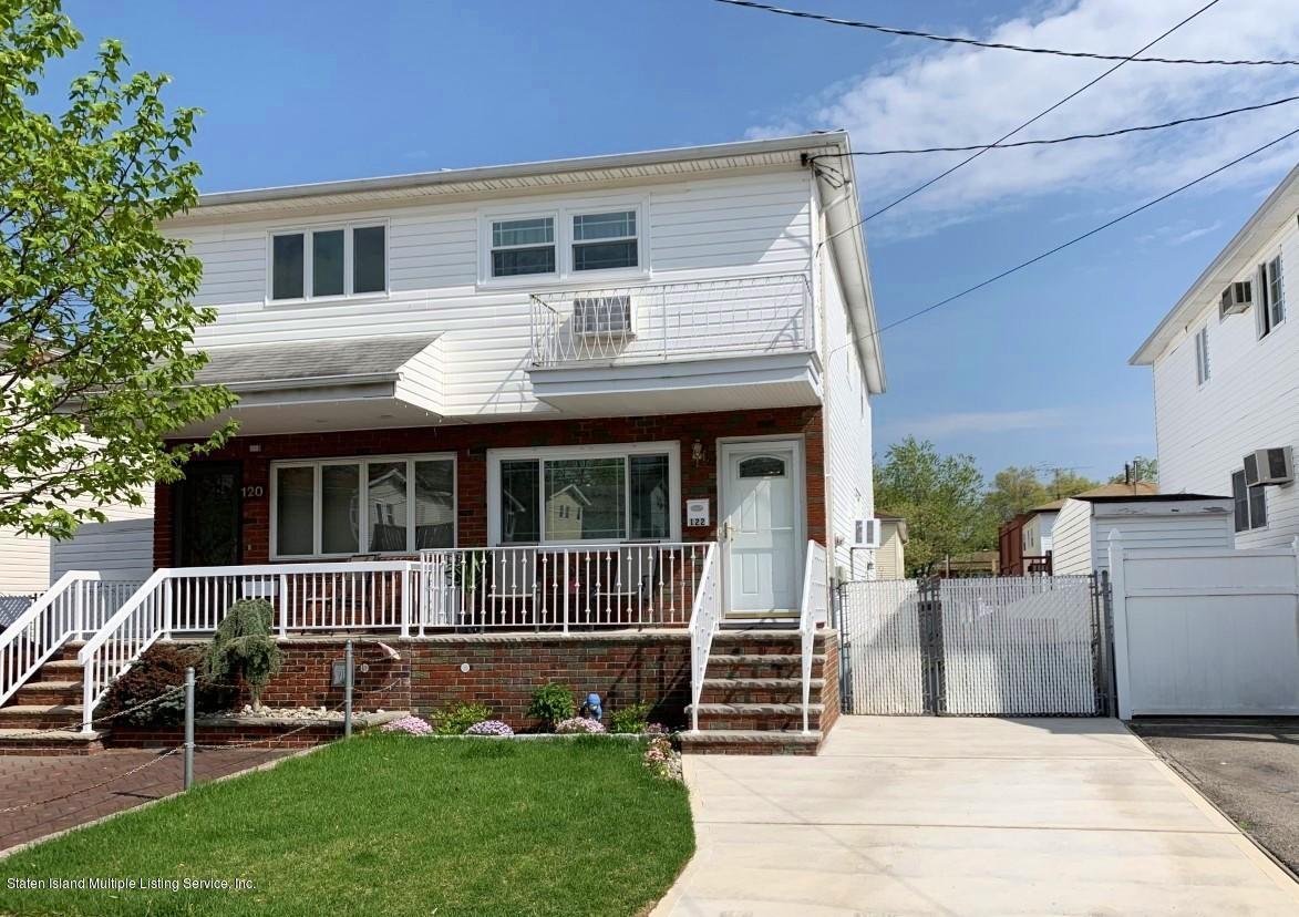 Single Family - Semi-Attached in Great Kills - 122 Maybury Avenue  Staten Island, NY 10308