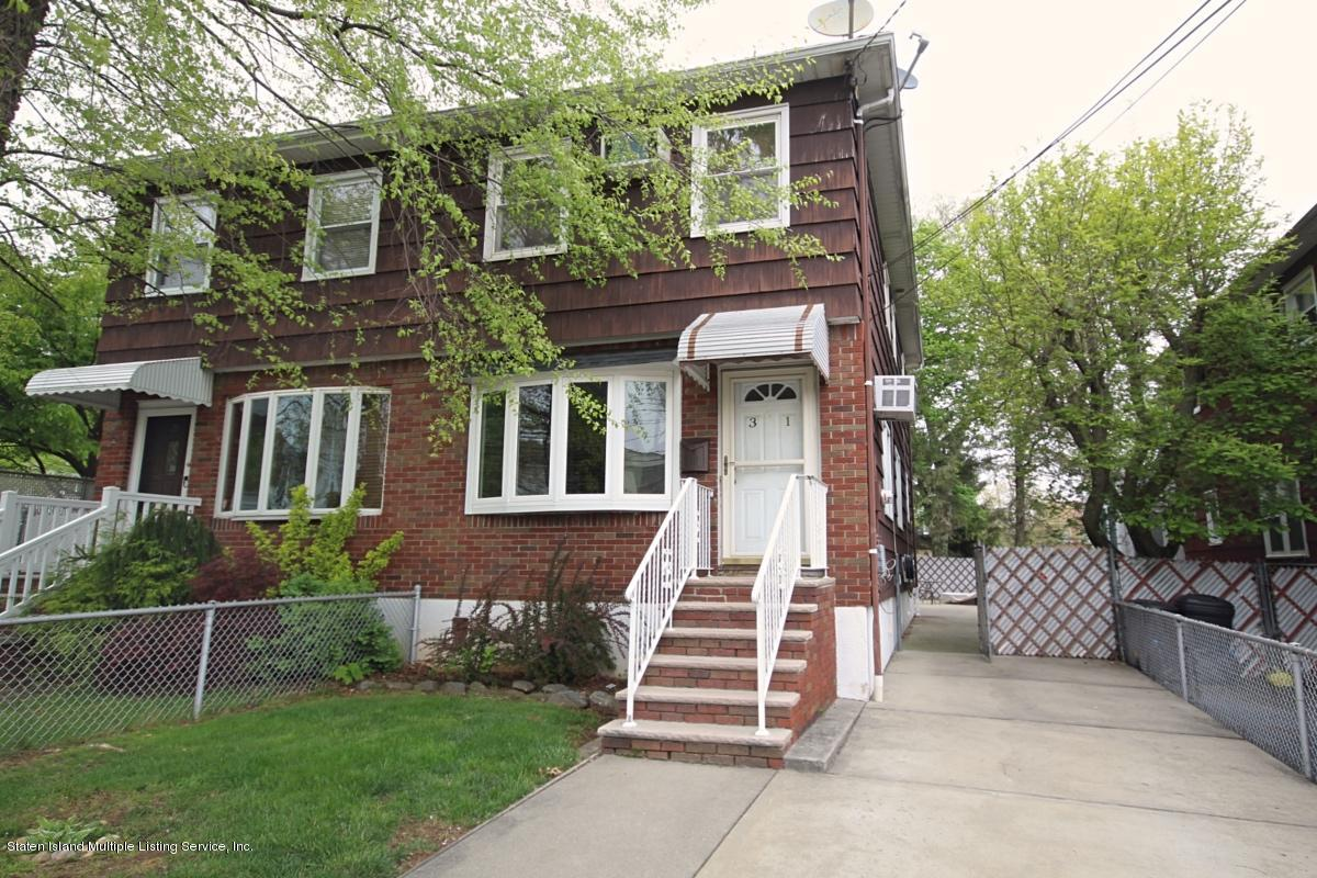 Single Family - Semi-Attached in Grant City - 31 Colfax Avenue  Staten Island, NY 10306