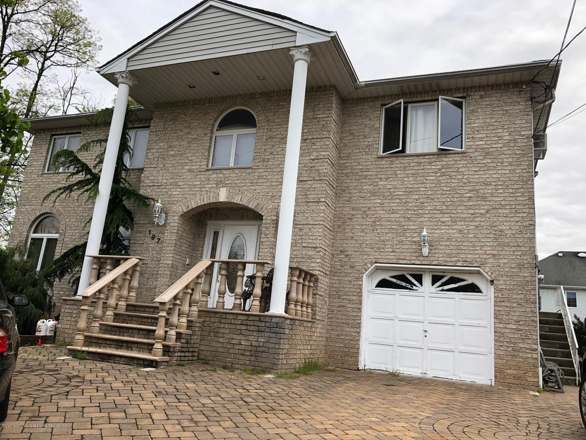 Two Family - Detached in Tottenville - 197 Aspinwall Street  Staten Island, NY 10307