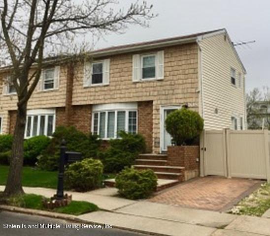 Single Family - Semi-Attached 108 Moffett Street  Staten Island, NY 10312, MLS-1128085-18