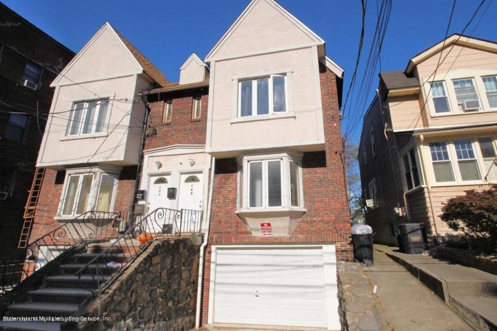 Two Family - Semi-Attached in Silver Lake - 169 Silver Lake Road  Staten Island, NY 10301