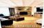 Formal living room gas fire place
