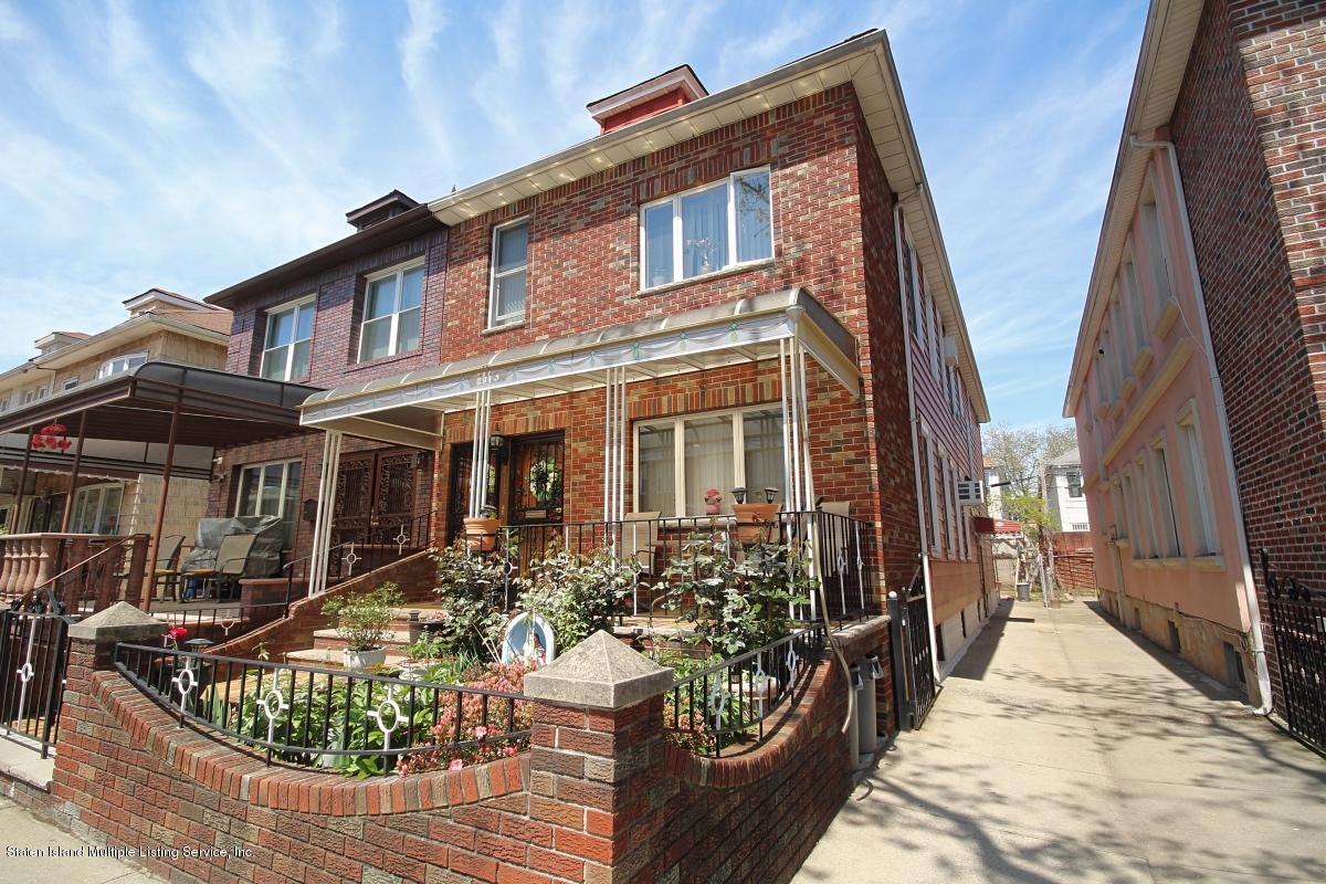 Two Family - Semi-Attached 2113 73rd Street  Brooklyn, NY 11204, MLS-1128799-2