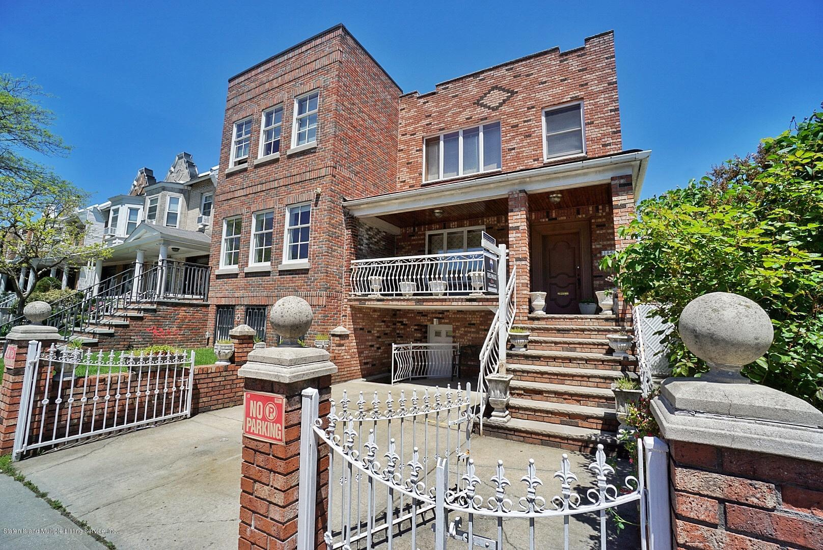 Single Family - Semi-Attached 1867 62nd Street  Brooklyn, NY 11204, MLS-1128861-2