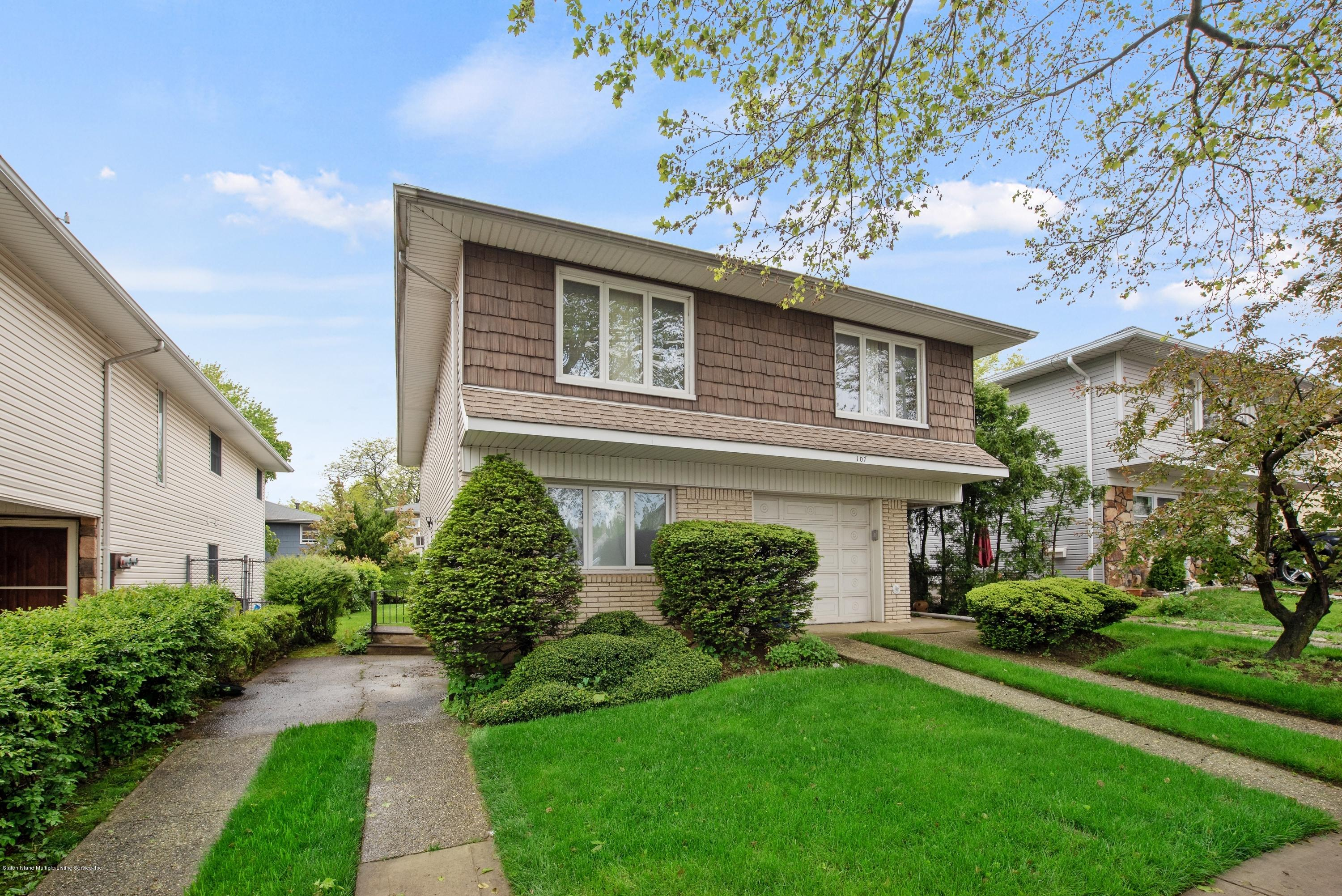 Two Family - Detached 107 Oakville Street  Staten Island, NY 10314, MLS-1129051-2