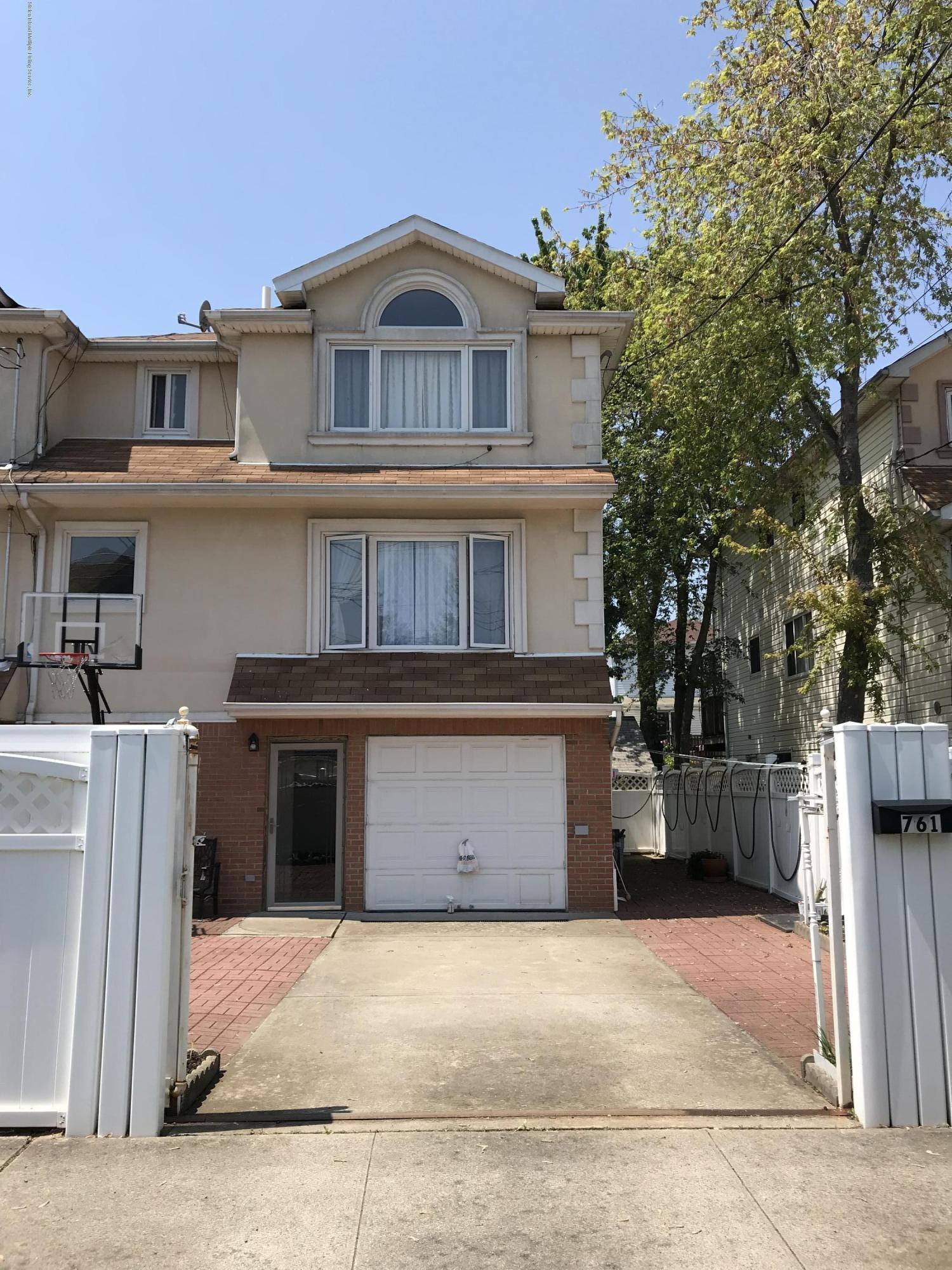 Single Family - Semi-Attached 761 Patterson Avenue  Staten Island, NY 10306, MLS-1128936-2
