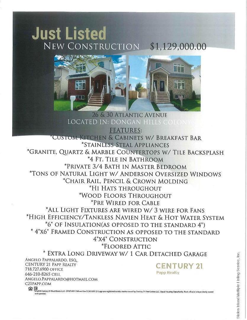 Two Family - Detached 30 Atlantic Avenue  Staten Island, NY 10304, MLS-1128623-63
