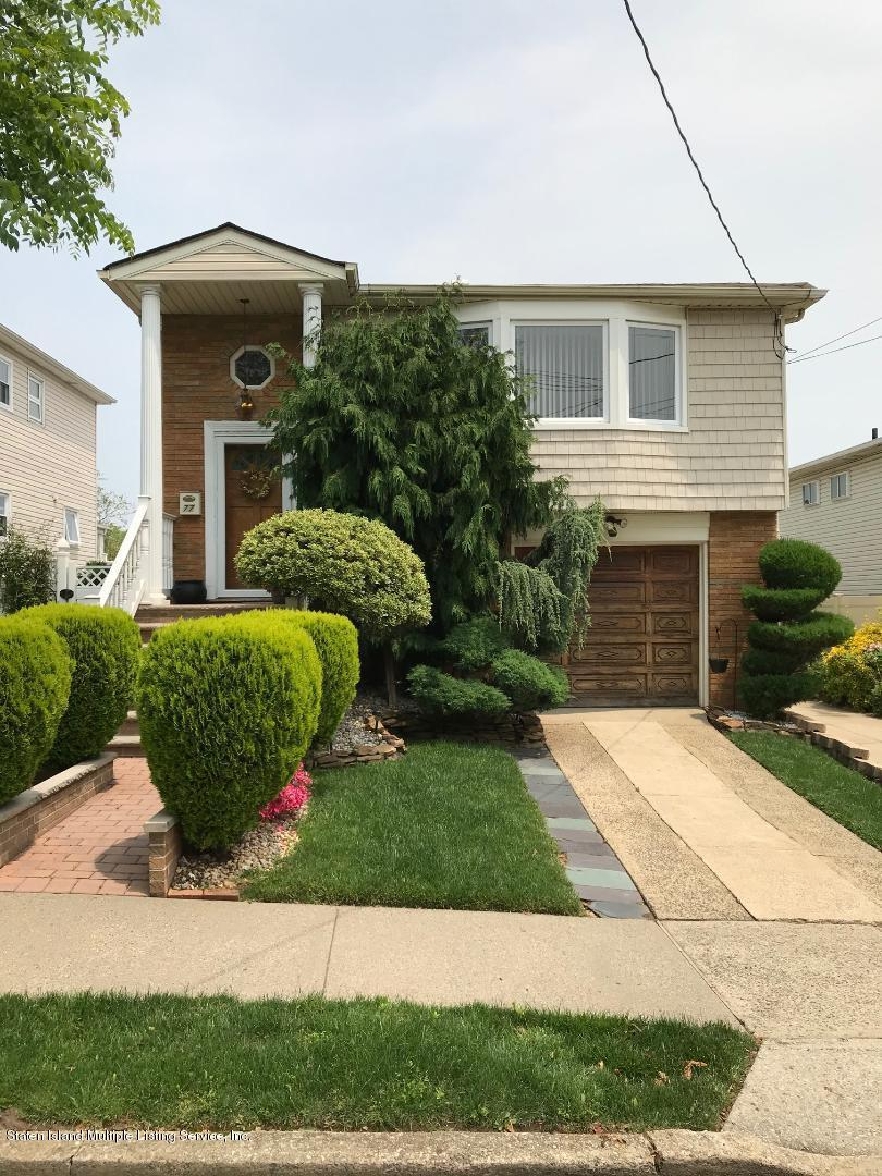 Two Family - Detached 77 Ainsworth Avenue  Staten Island, NY 10308, MLS-1128309-2