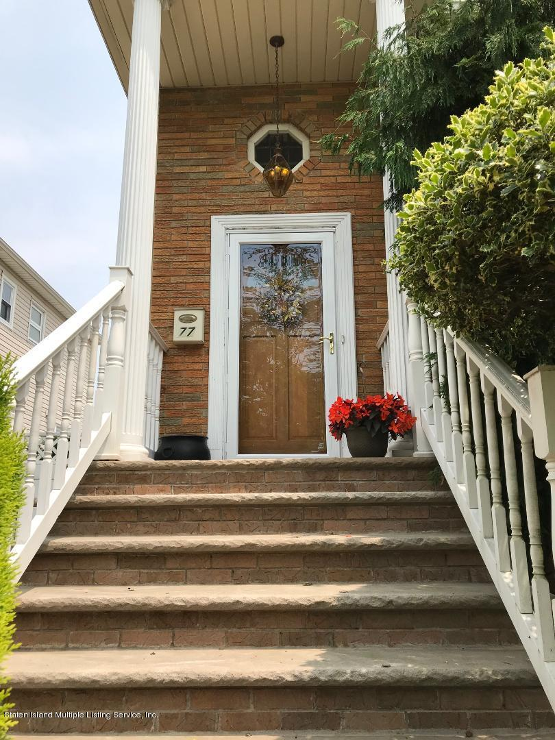 Two Family - Detached 77 Ainsworth Avenue  Staten Island, NY 10308, MLS-1128309-3