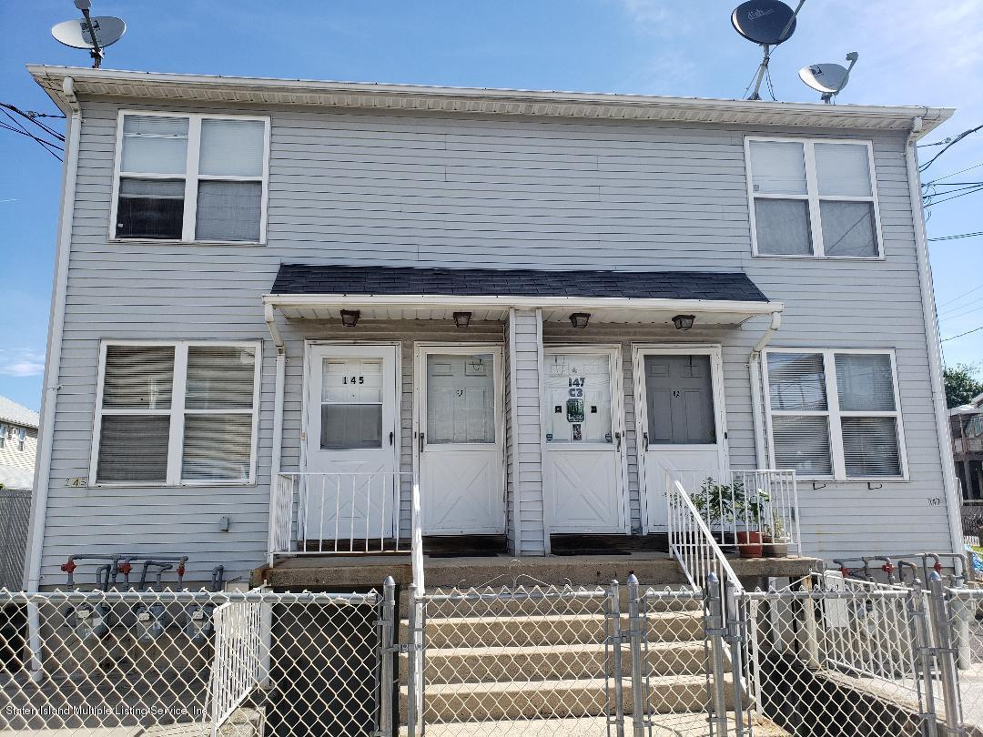 Two Family - Semi-Attached in Dongan Hills-Above Hylan - 145 Seaview Avenue  Staten Island, NY 10304