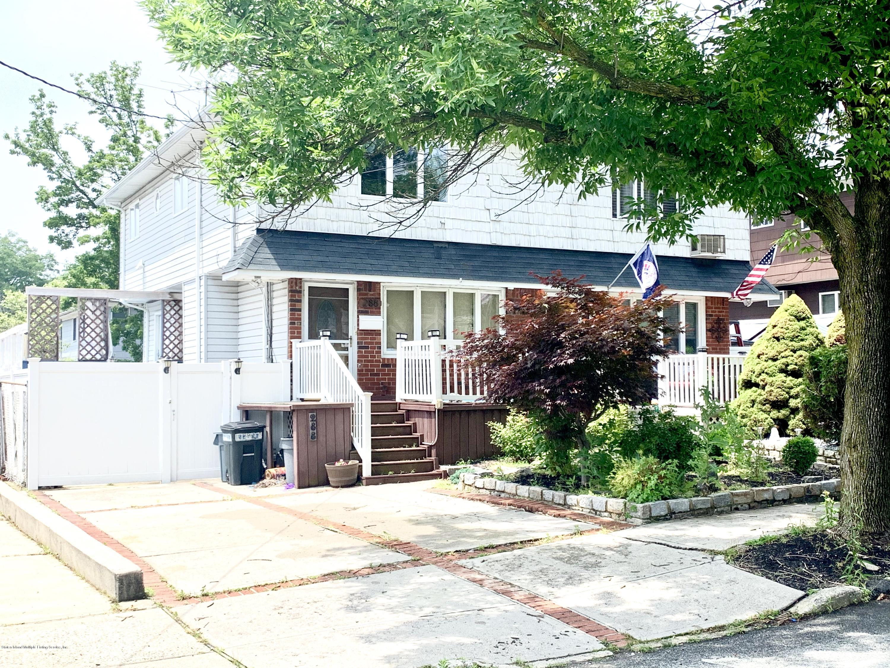 Single Family - Semi-Attached in Eltingville - 288 Getz Avenue  Staten Island, NY 10312