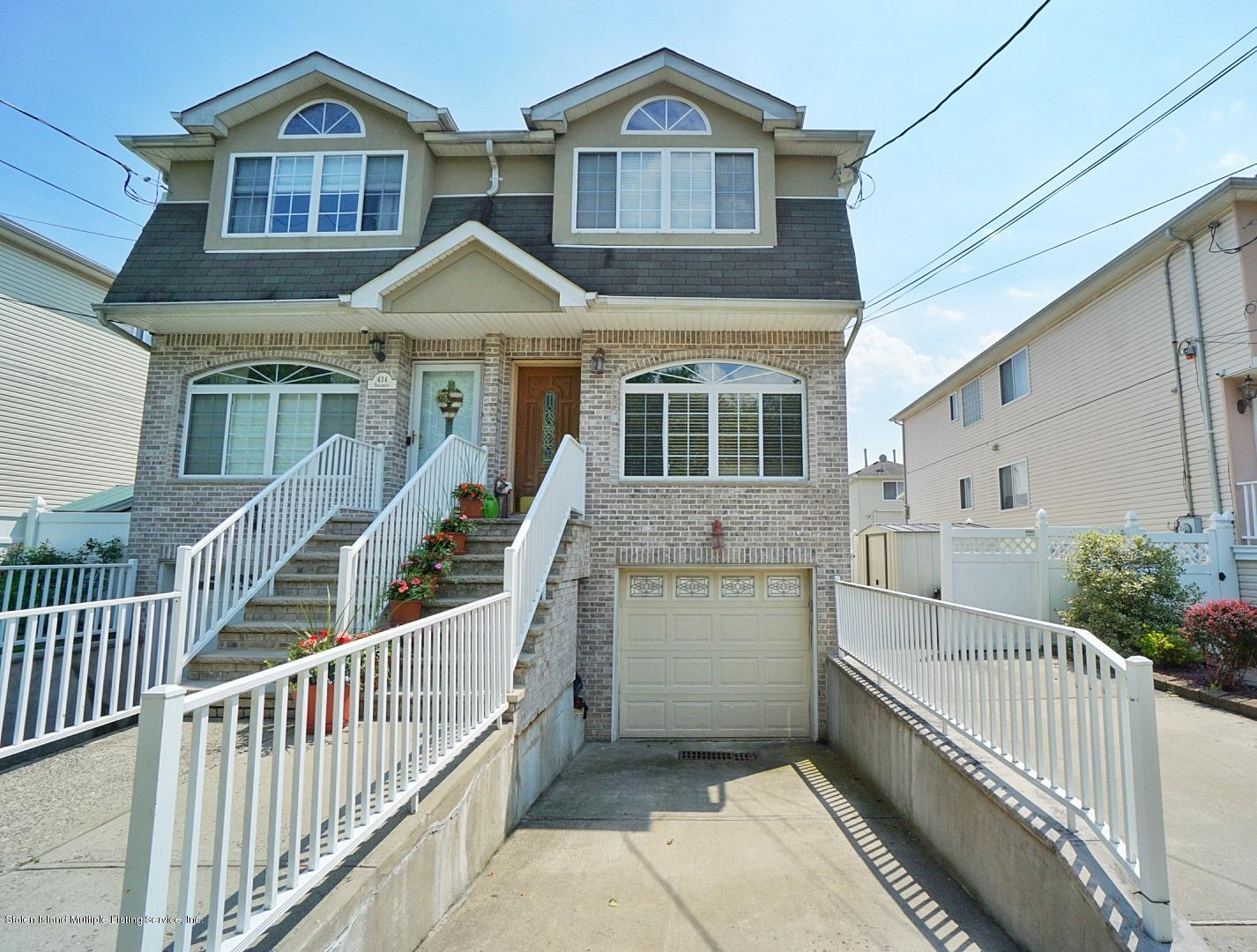 Two Family - Semi-Attached in Pleasant Plains - 430 Englewood Avenue  Staten Island, NY 10309