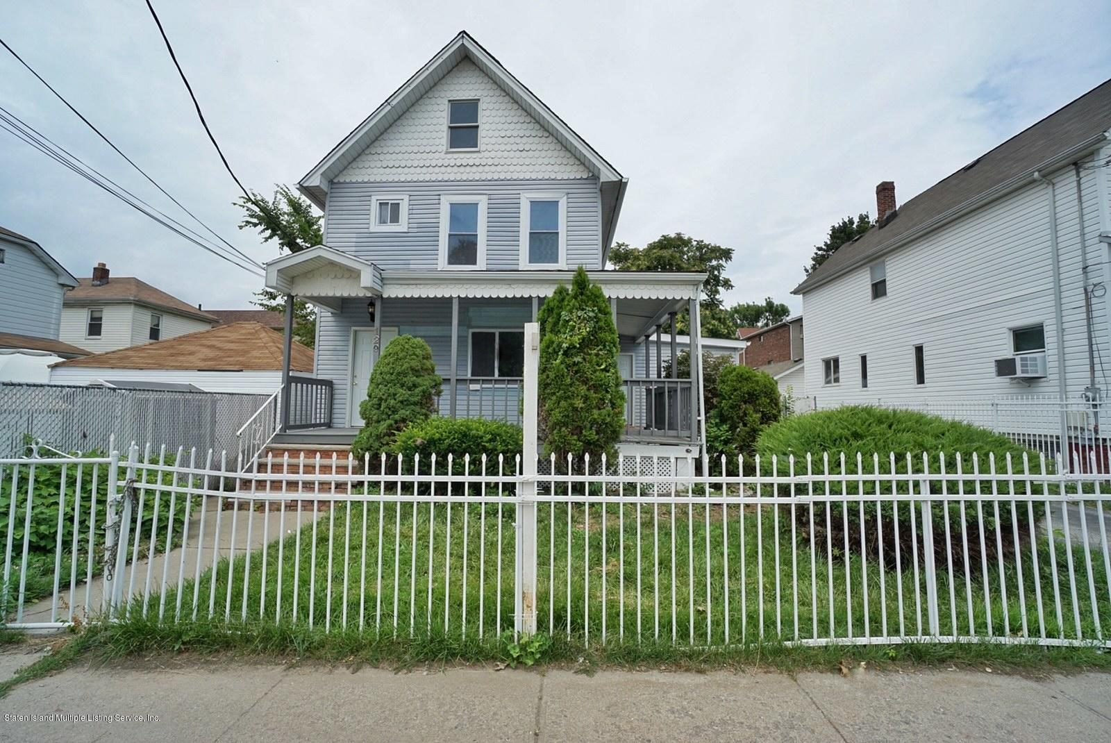 Two Family - Detached in West Brighton - 129 Floyd Street  Staten Island, NY 10310