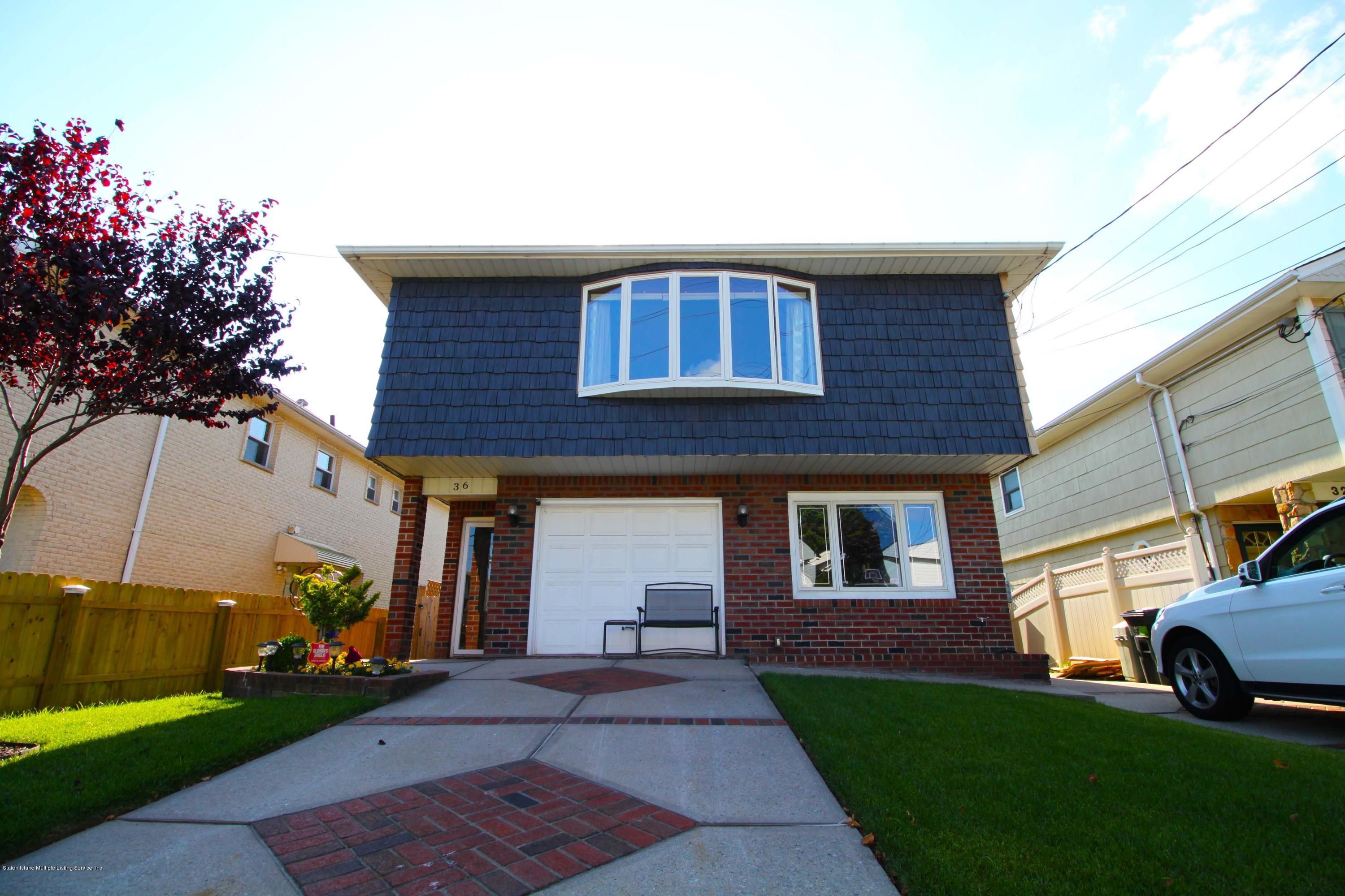 Two Family - Detached in New Springville - 36 Shepard Avenue  Staten Island, NY 10314