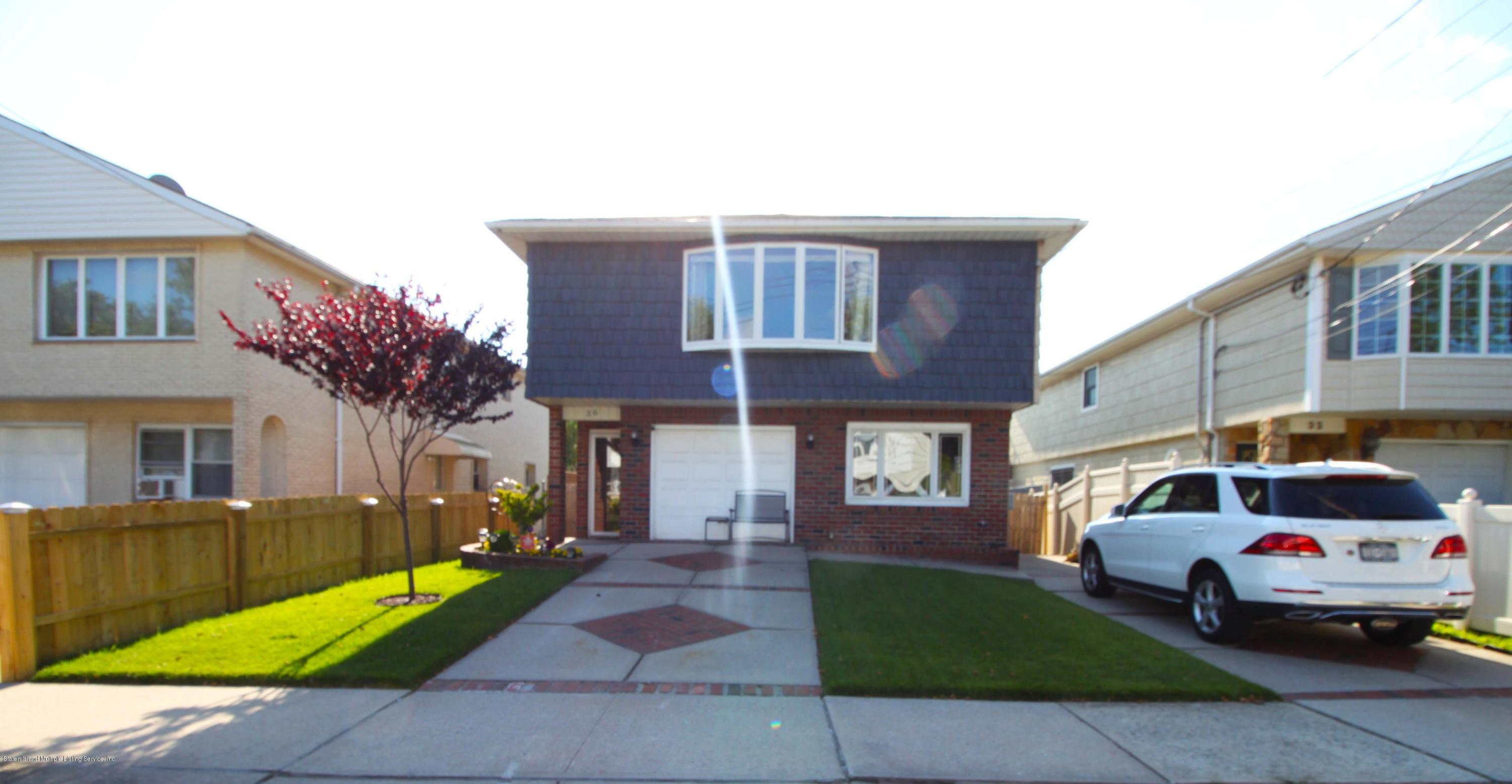 Two Family - Detached 36 Shepard Avenue  Staten Island, NY 10314, MLS-1130648-2