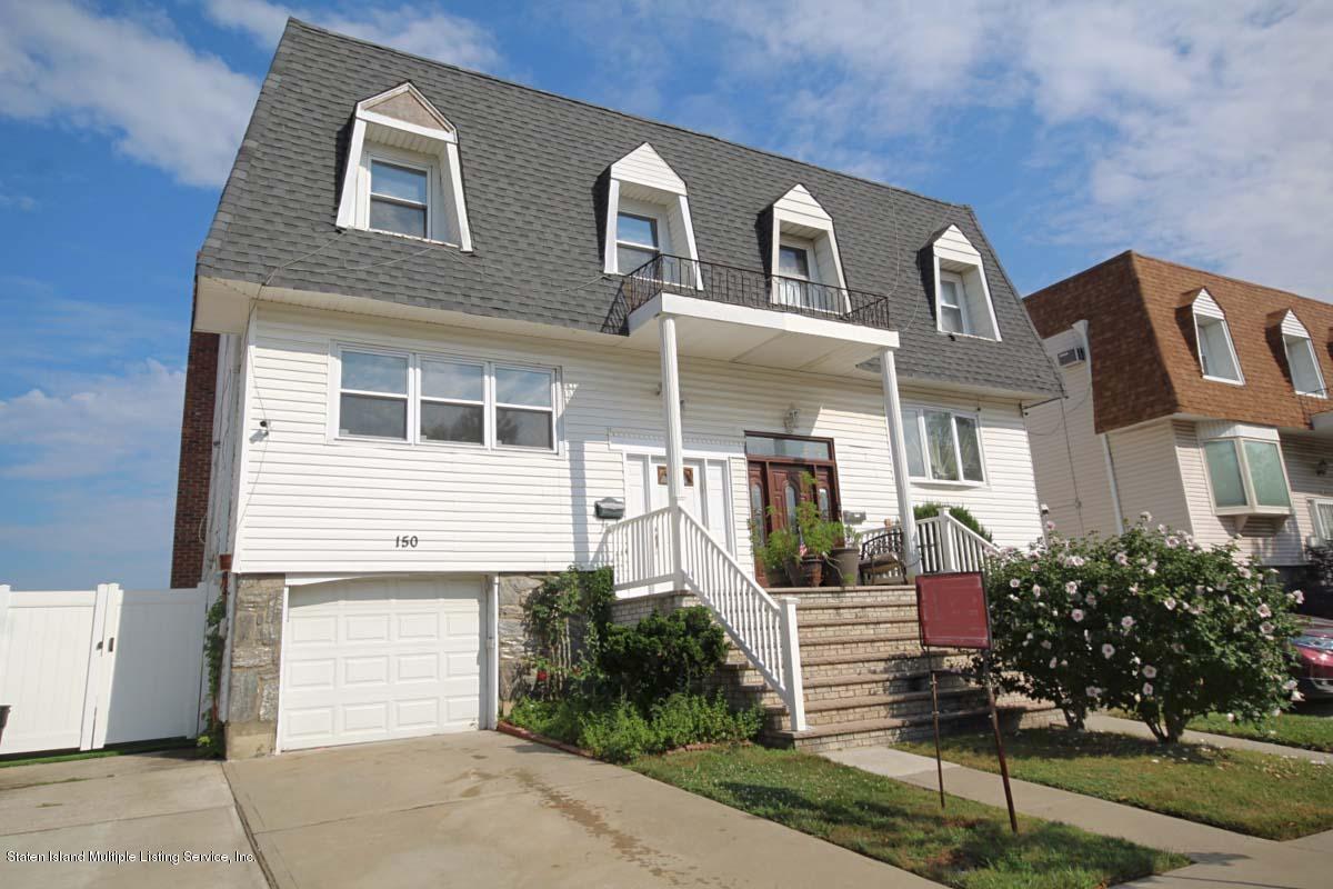 Single Family - Semi-Attached 150 Kelly Boulevard  Staten Island, NY 10314, MLS-1130756-2