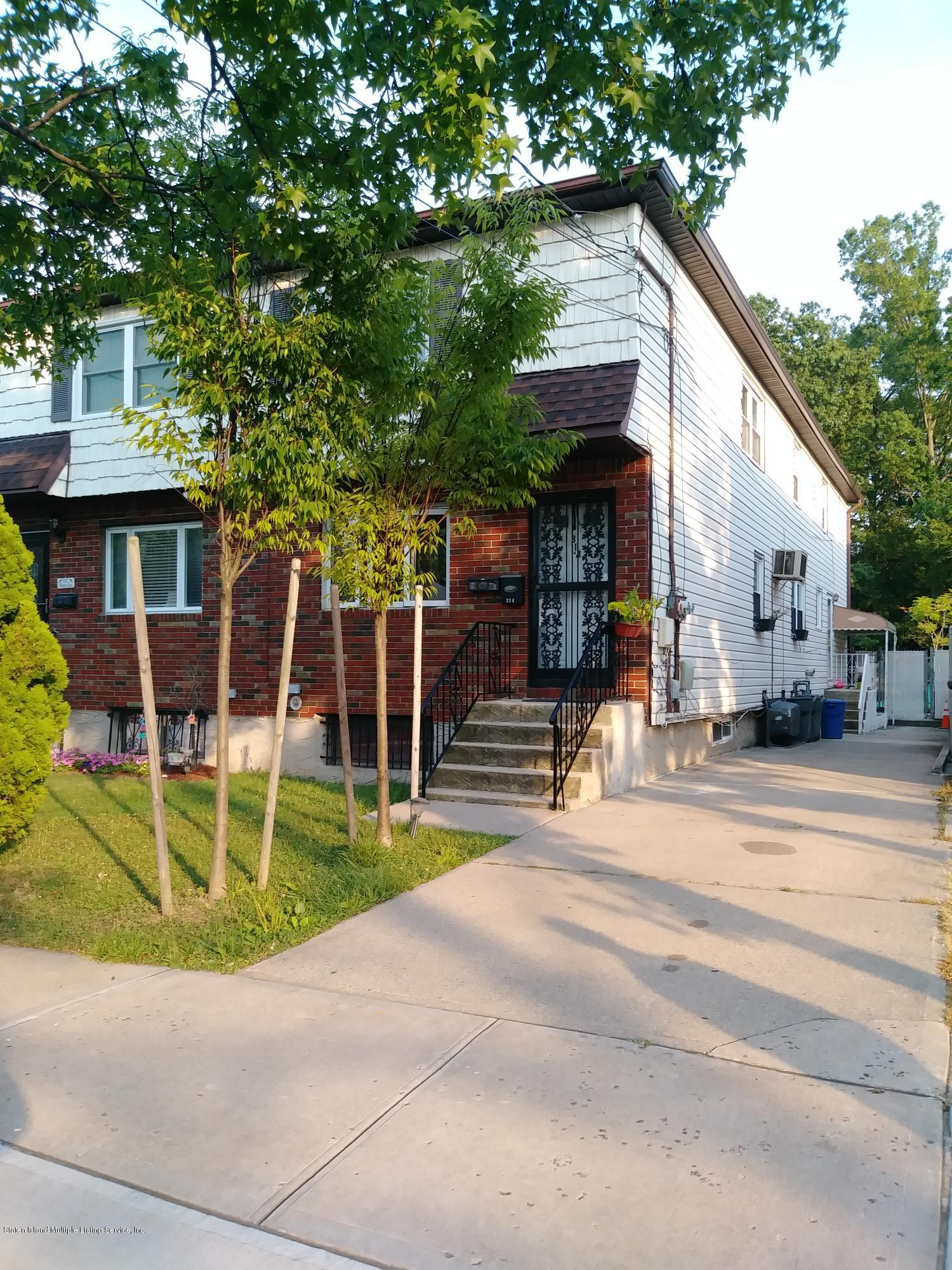Two Family - Semi-Attached in Eltingville - 314 Wilson Avenue  Staten Island, NY 10312