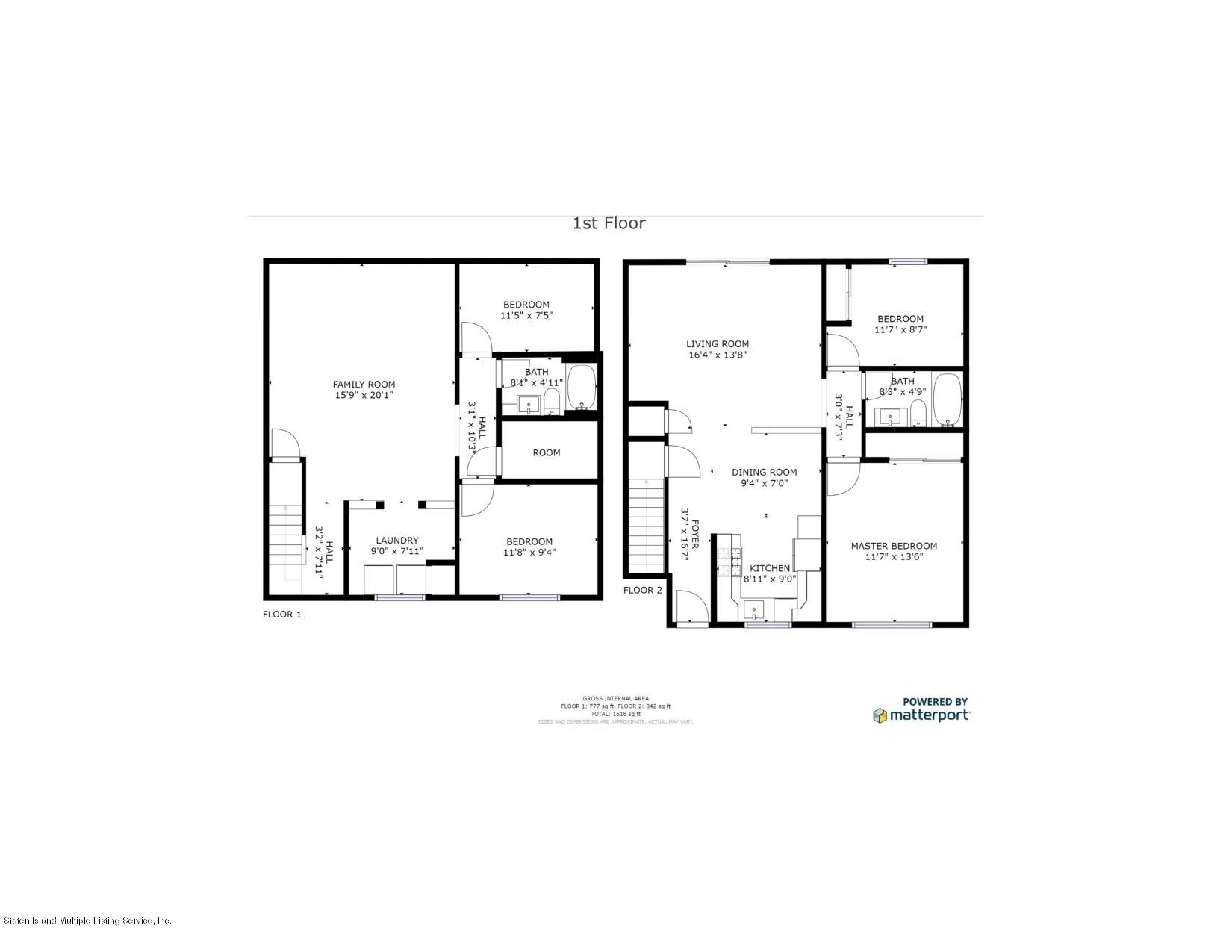 Two Family - Attached 1308 Richmond Avenue  Staten Island, NY 10314, MLS-1131134-43