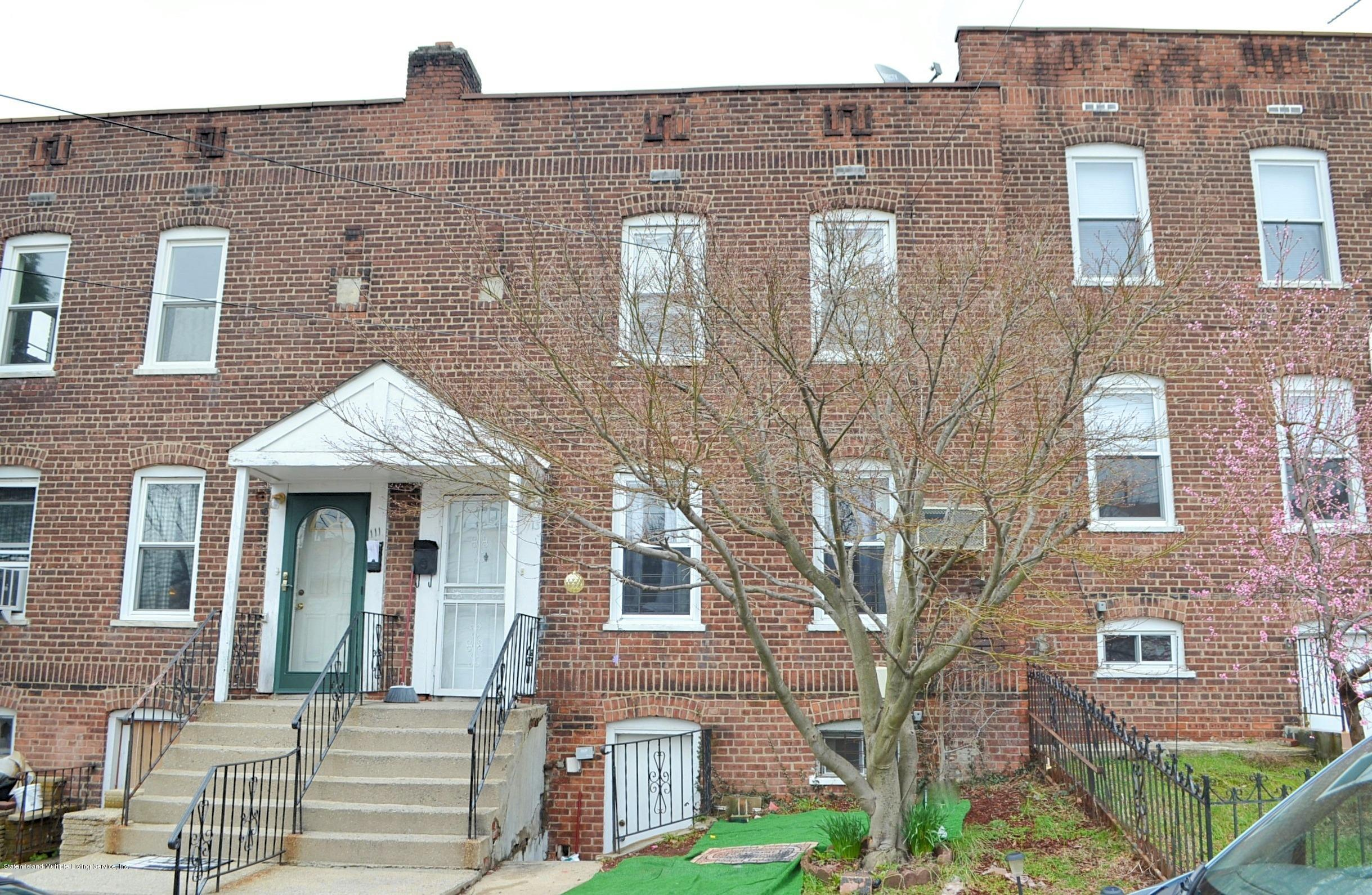 Single Family - Attached in New Brighton - 113 Pendleton Place  Staten Island, NY 10301