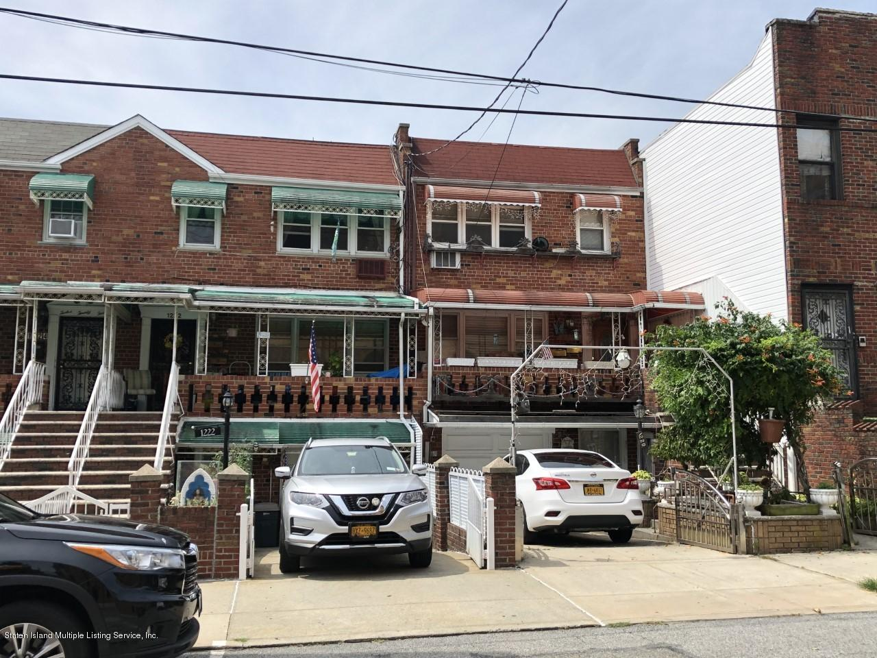 Two Family - Attached in Bensonhurst - 1222 66th Street  Brooklyn, NY 11219