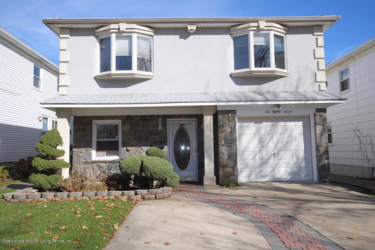 Single Family - Detached 687 Klondike Avenue  Staten Island, NY 10314, MLS-1131317-17