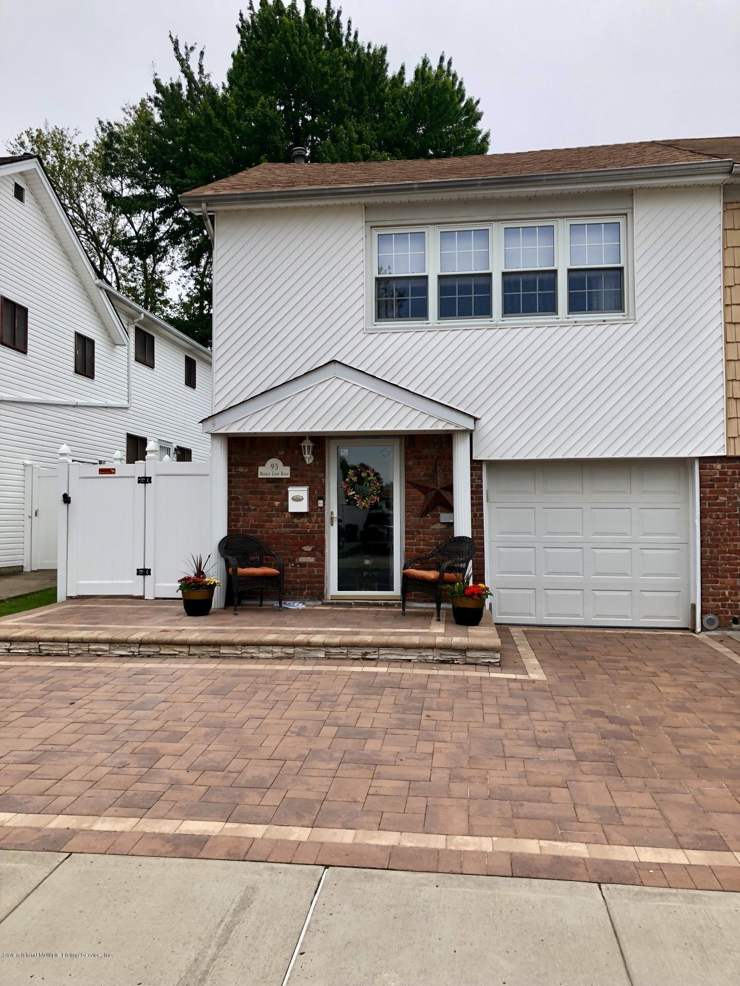 Single Family - Semi-Attached in Great Kills - 93 Middle Loop Road  Staten Island, NY 10308